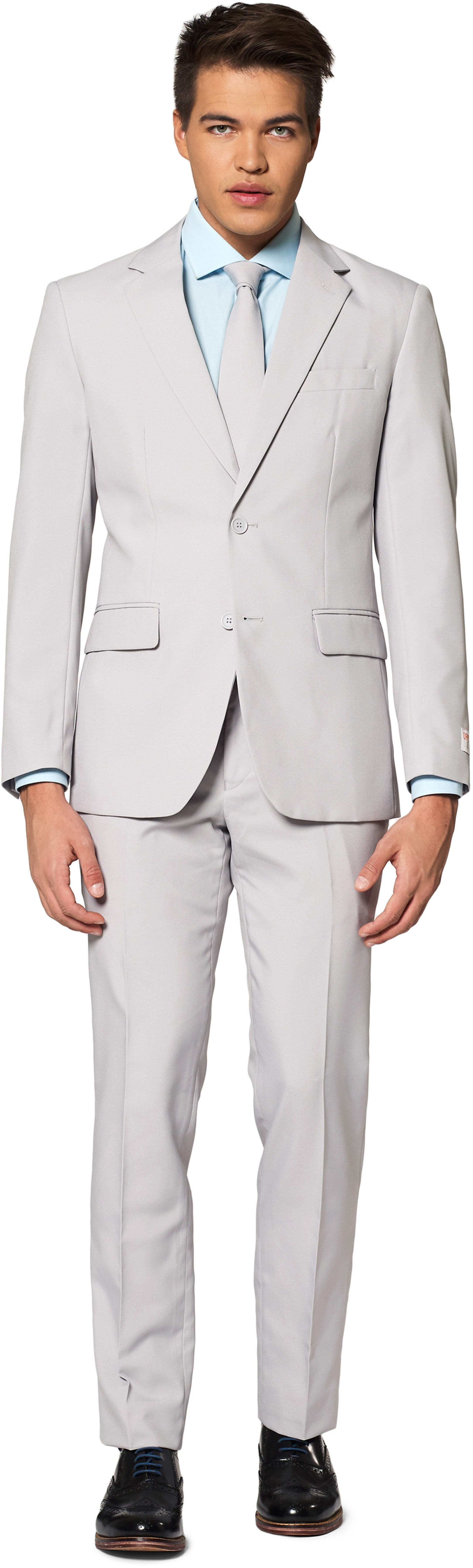 OppoSuits Groovy Grey Suit photo 0