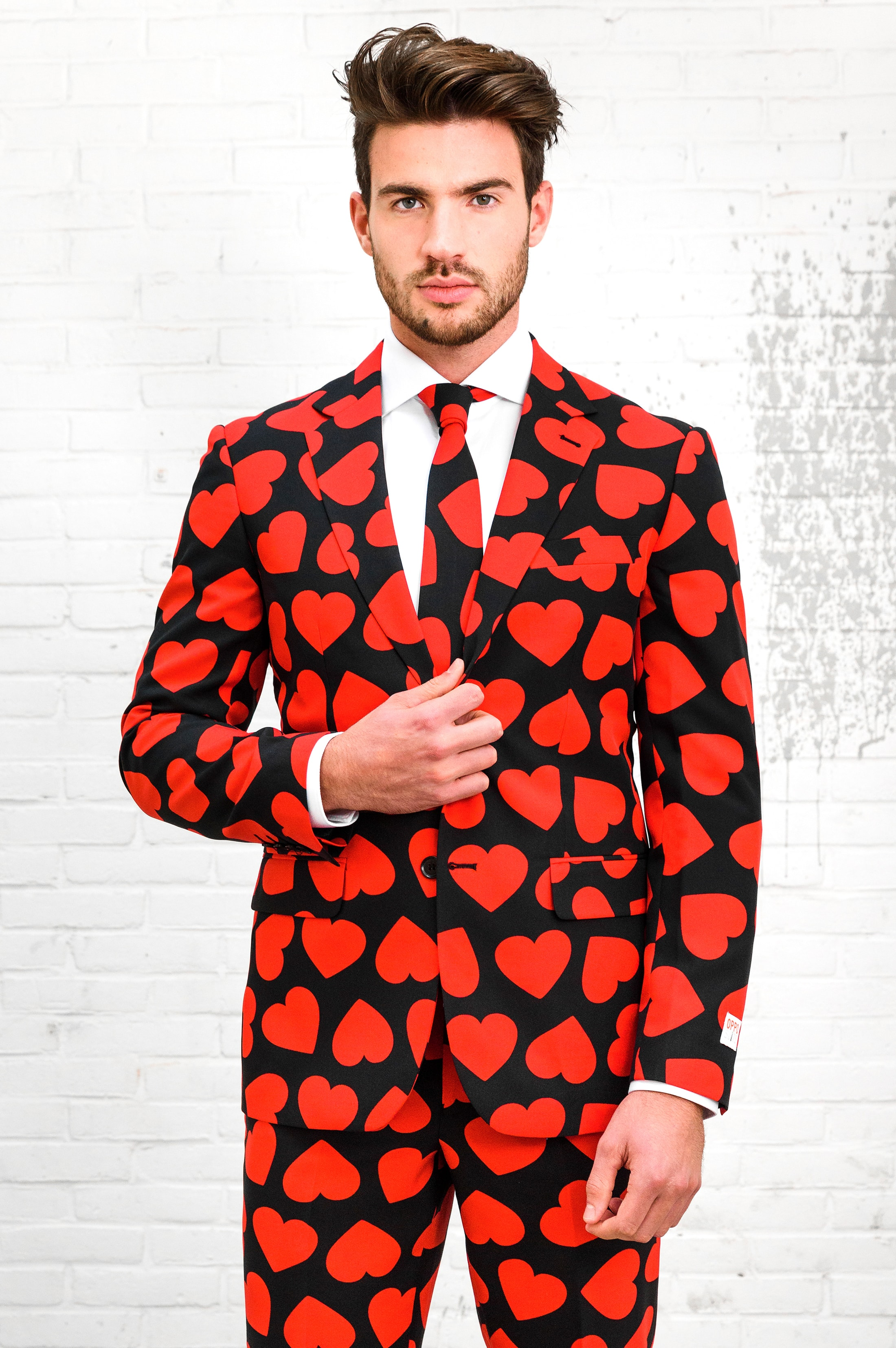 OppoSuits King Of Hearts Kostuum foto 2