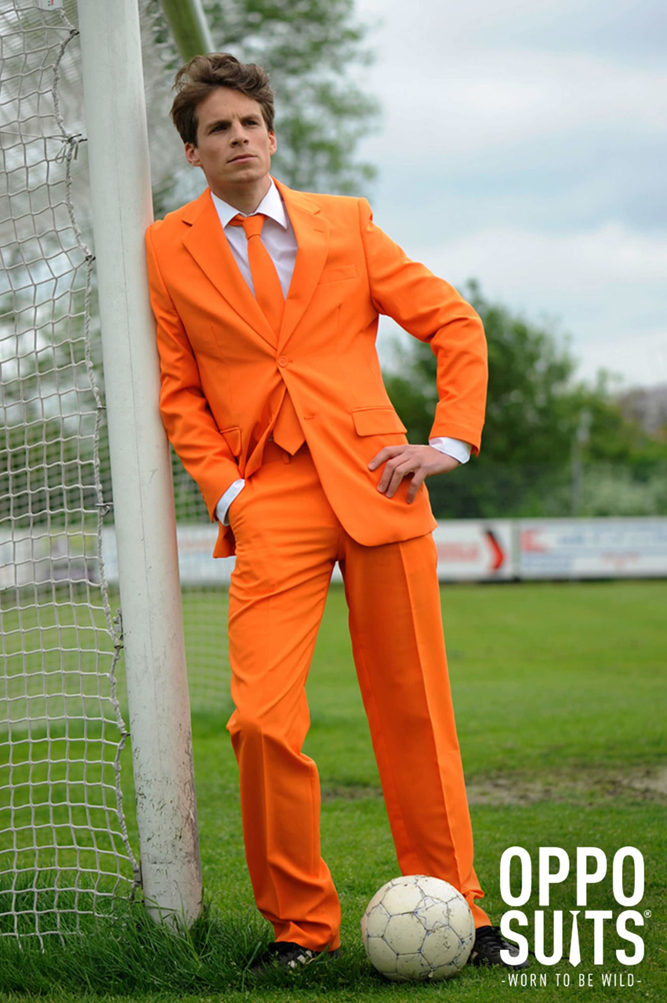OppoSuits Orange Kostüm foto 2