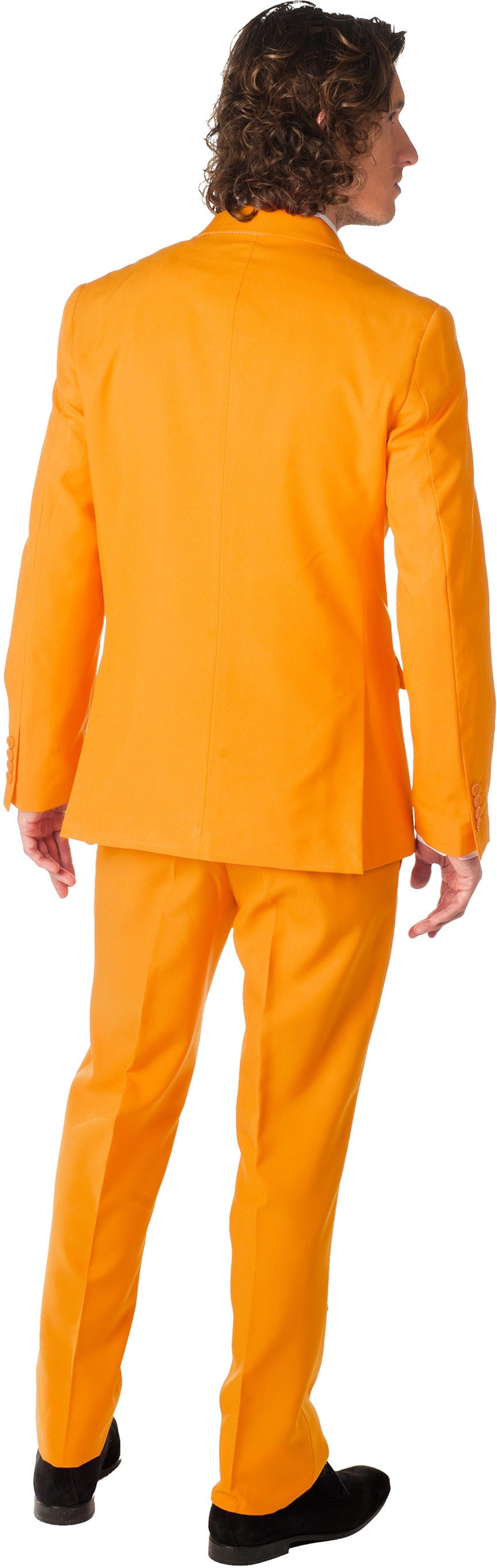 OppoSuits Oranje Kostuum foto 1