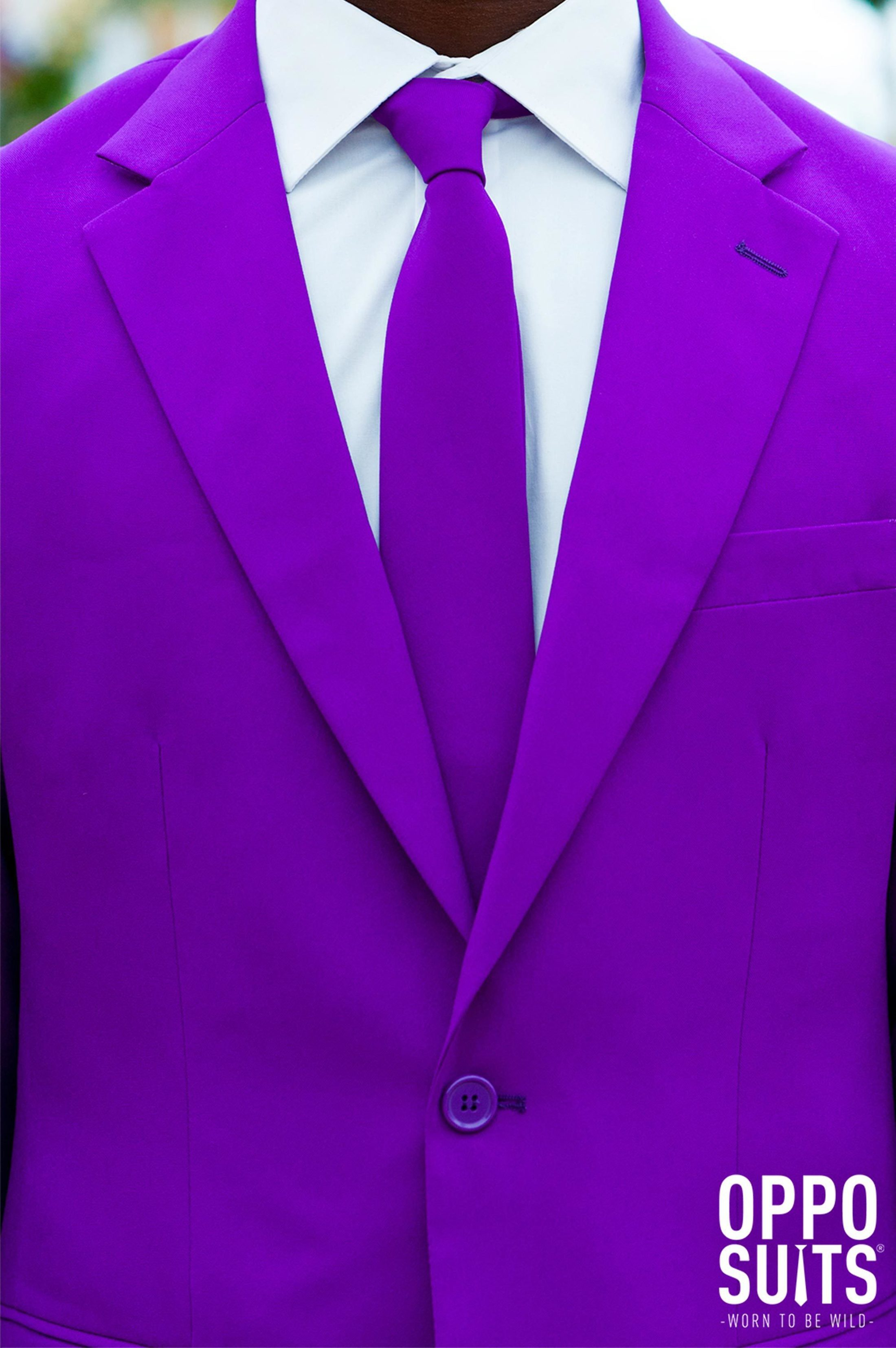 OppoSuits Purple Prince Kostüm foto 3