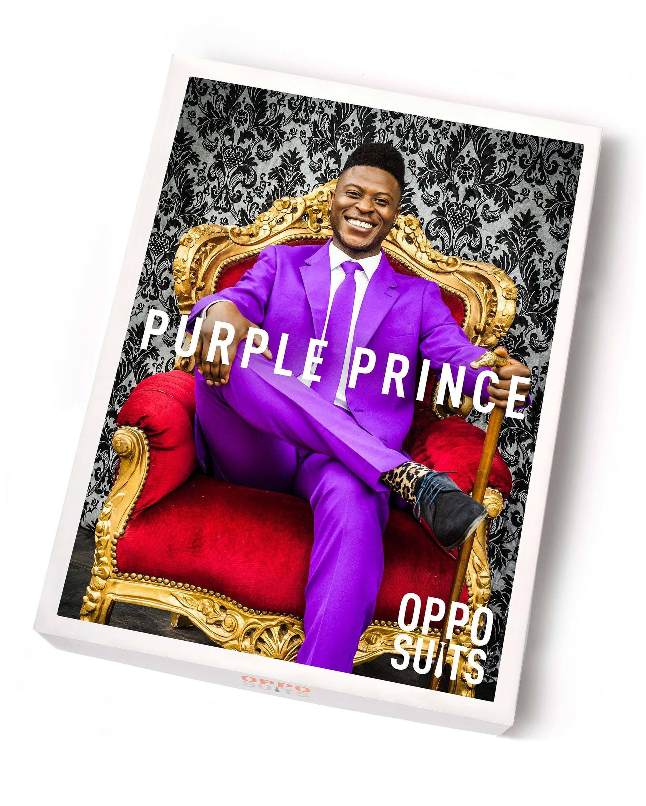 OppoSuits Purple Prince Suit foto 4