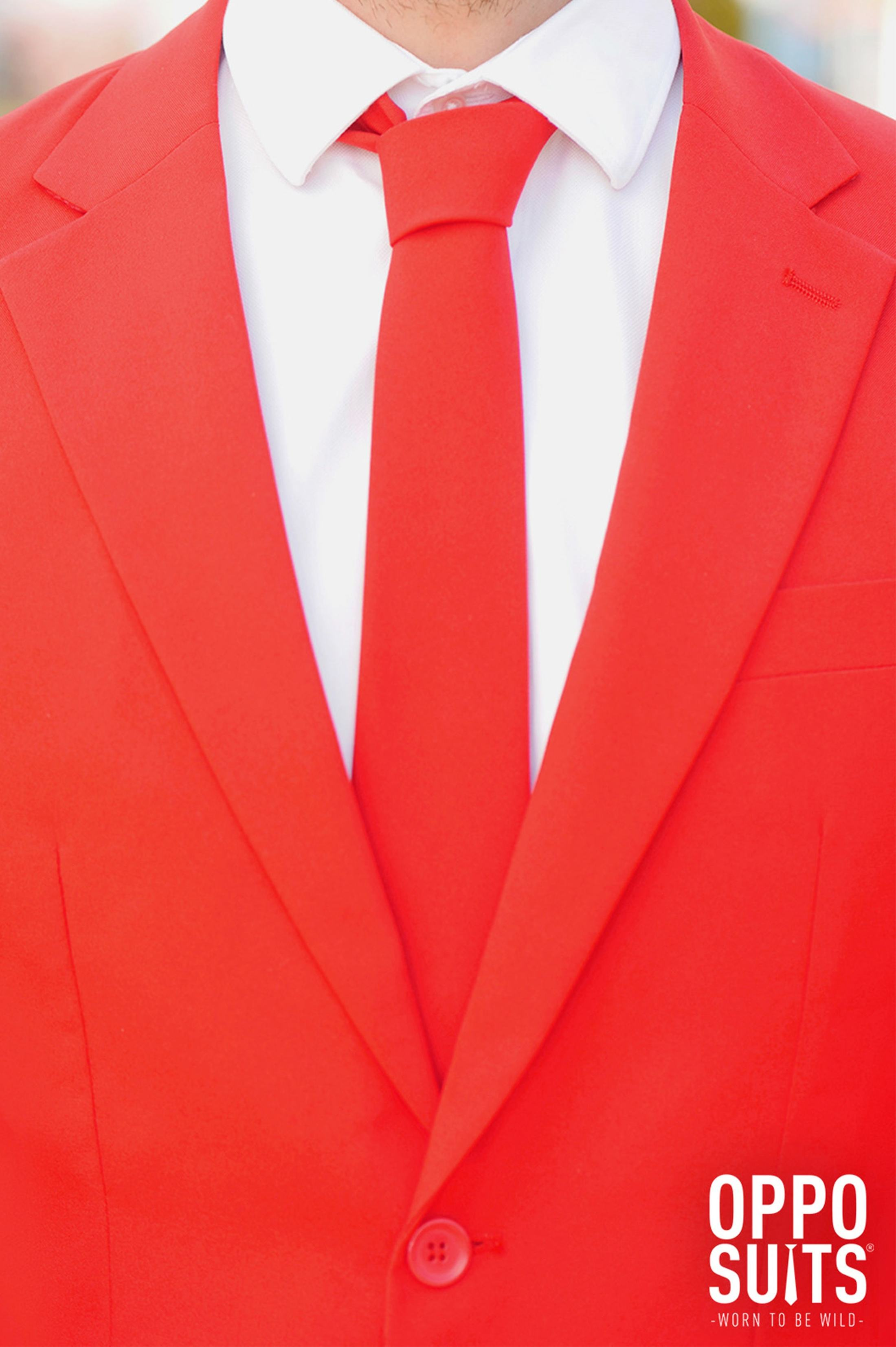OppoSuits Red Devil Kostüm foto 3
