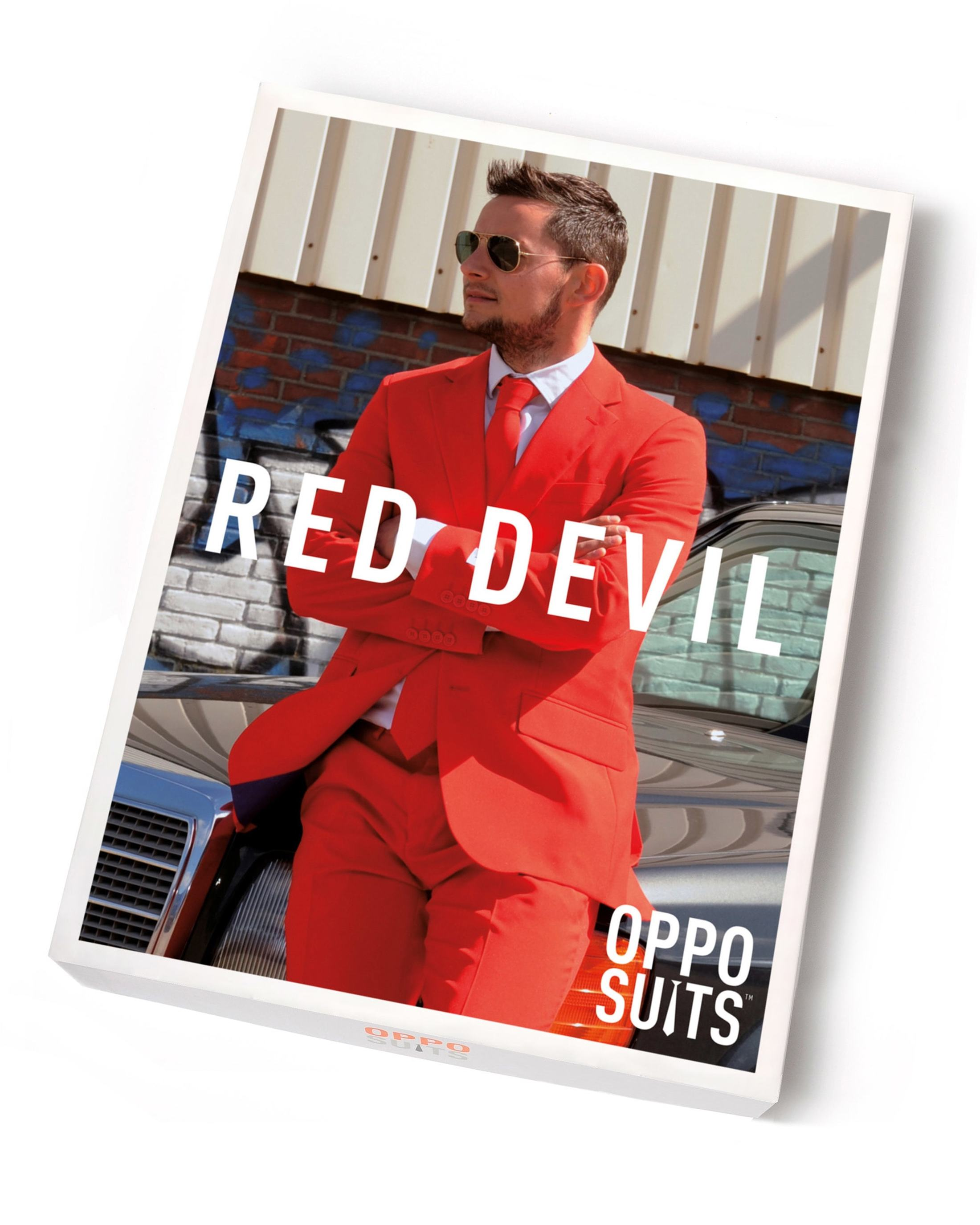 OppoSuits Red Devil Kostüm foto 4