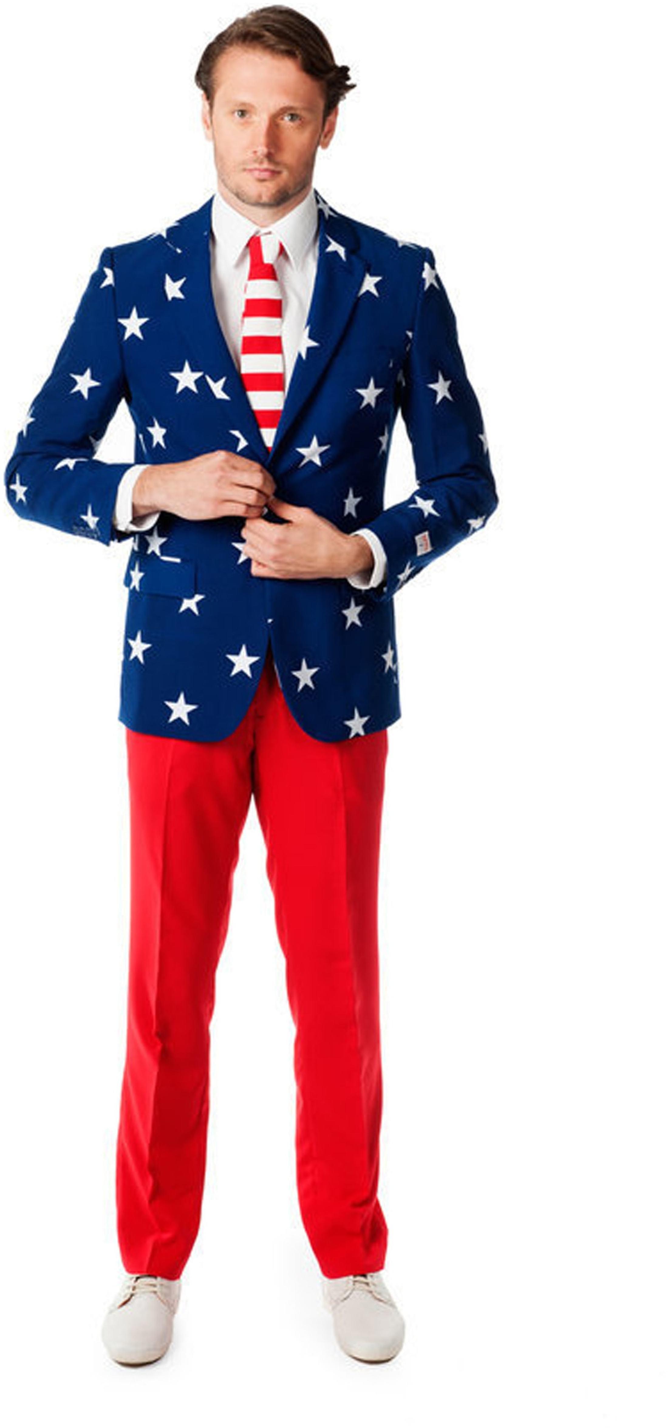 OppoSuits Stars and Stripes Kostüm foto 0