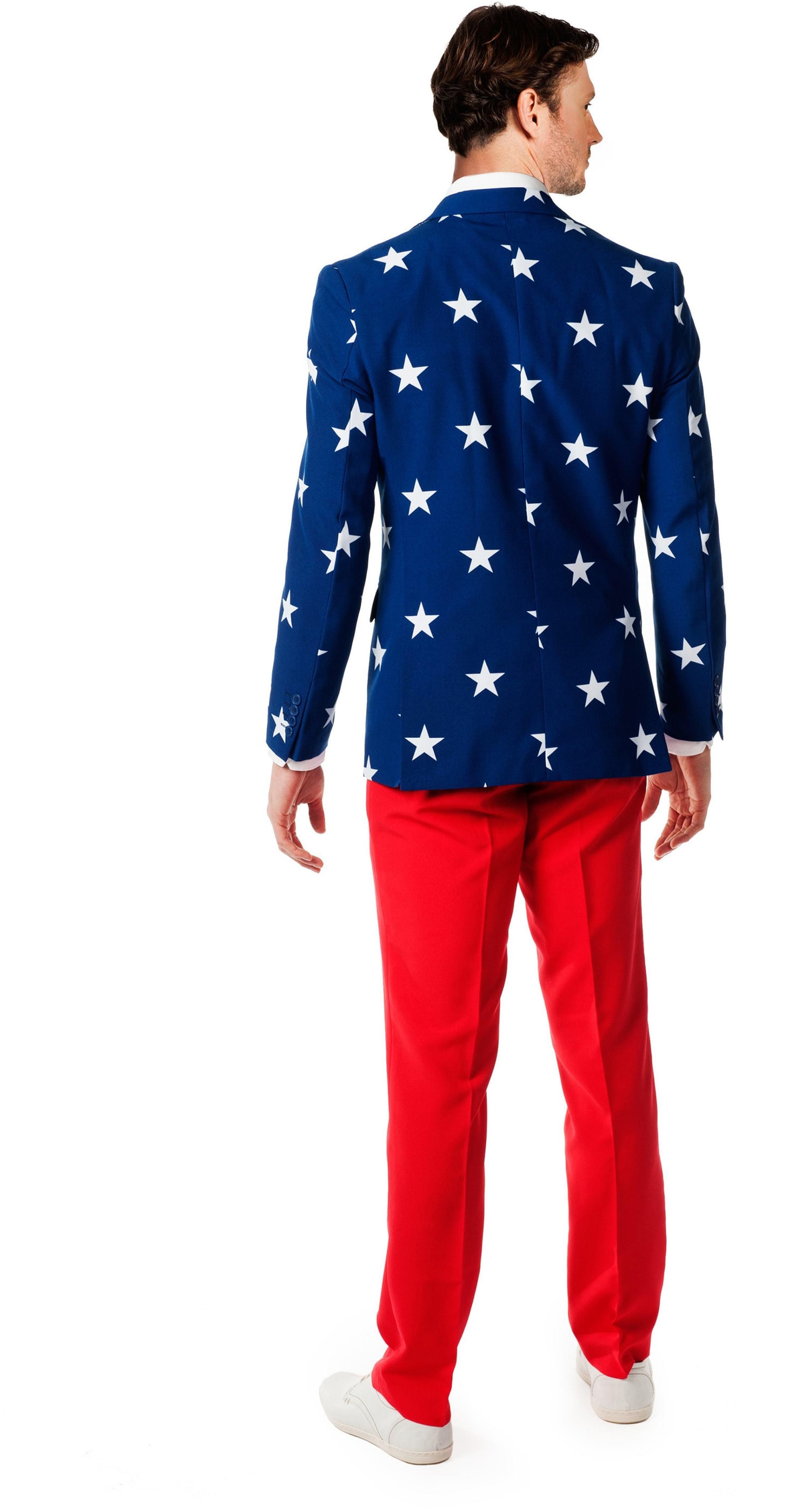 OppoSuits Stars and Stripes Kostüm foto 1