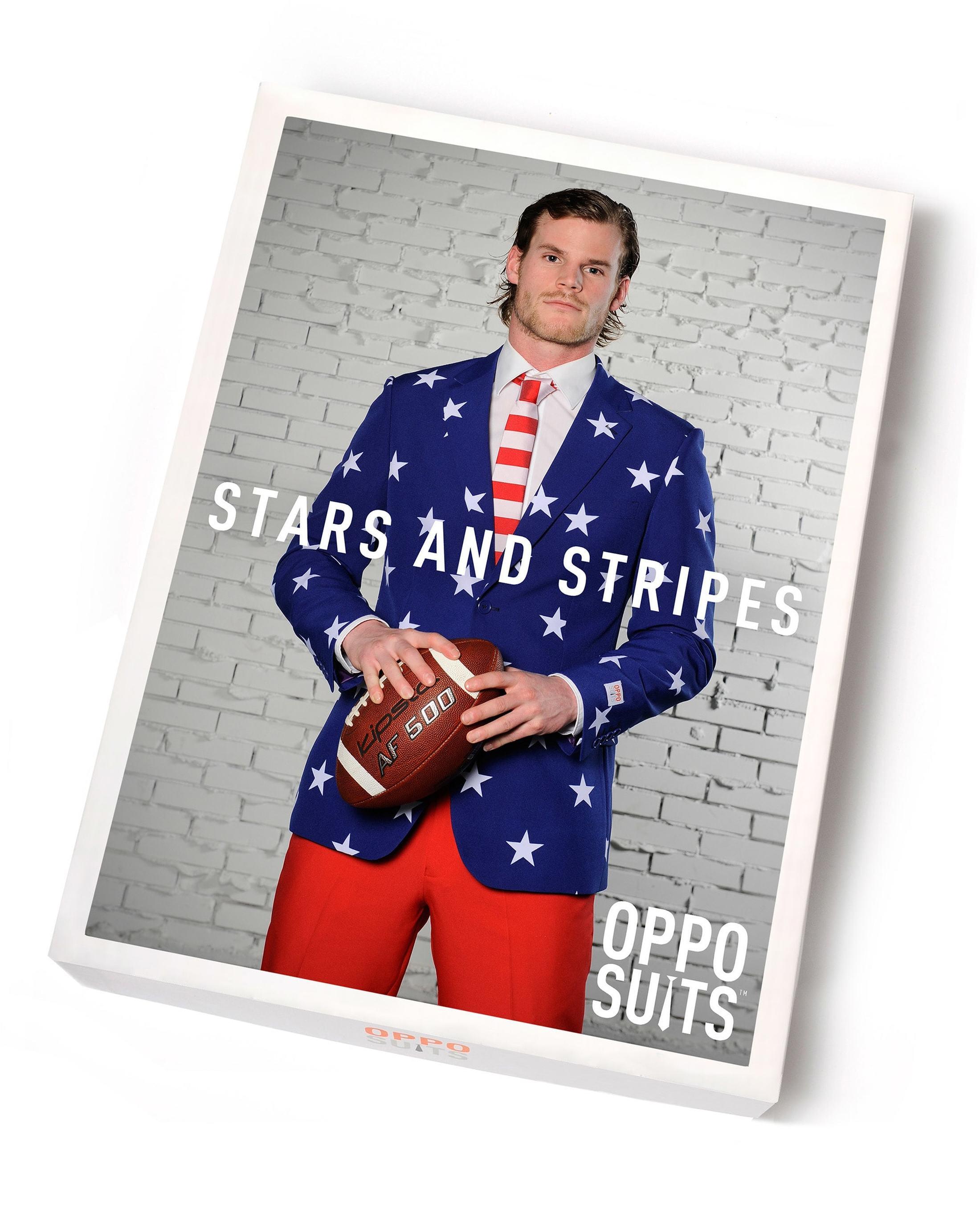 OppoSuits Stars and Stripes Kostuum foto 5