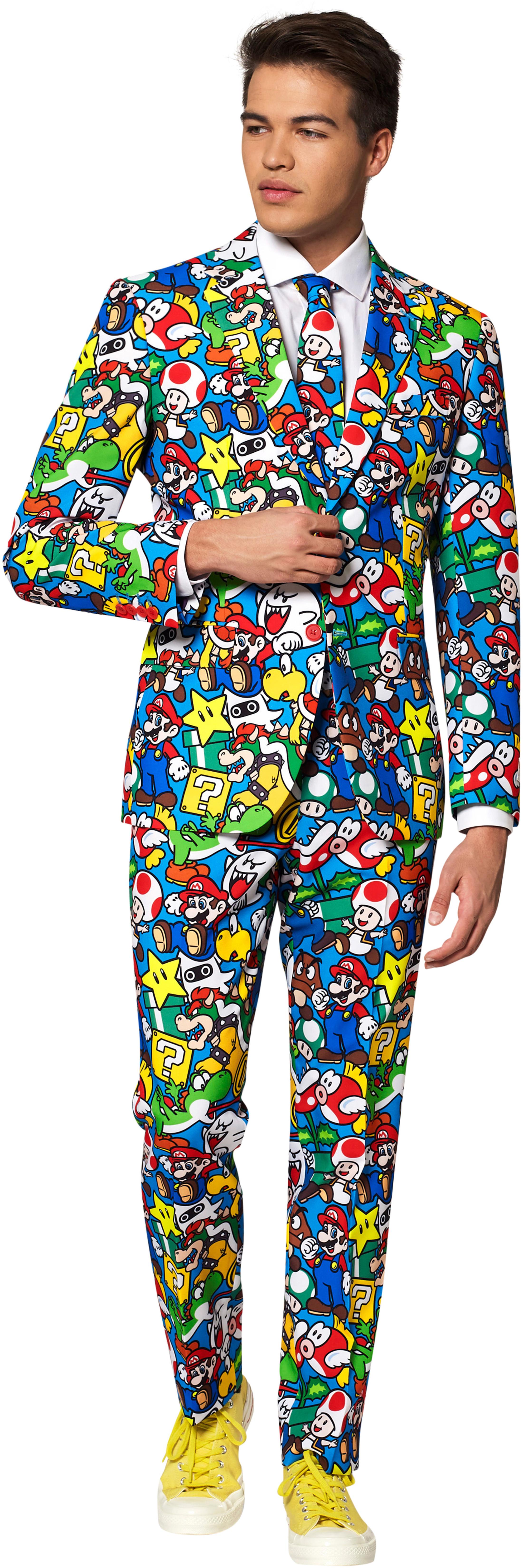 OppoSuits Super Mario Kostuum foto 0