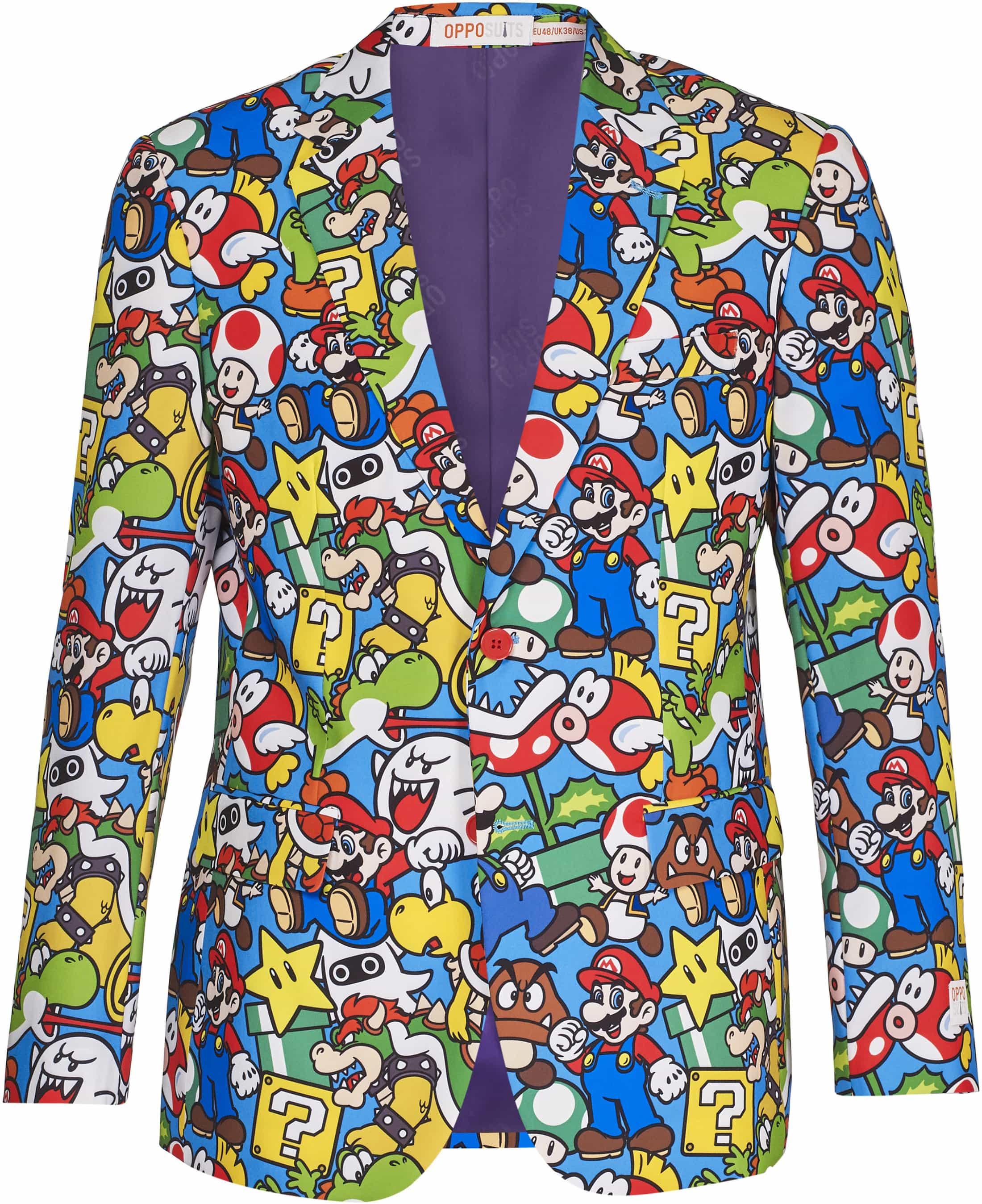 OppoSuits Super Mario Kostuum foto 1