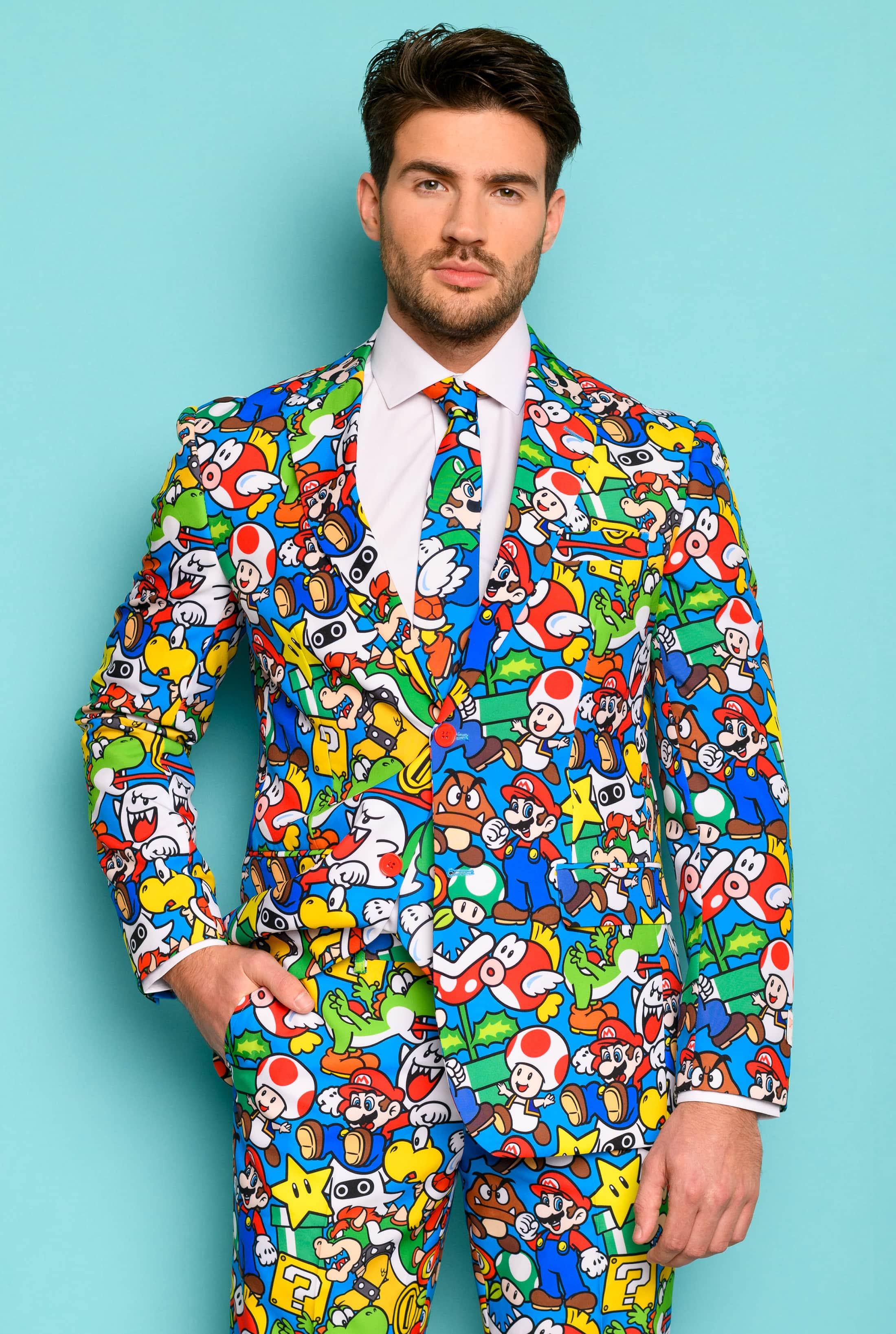 OppoSuits Super Mario Kostuum foto 4