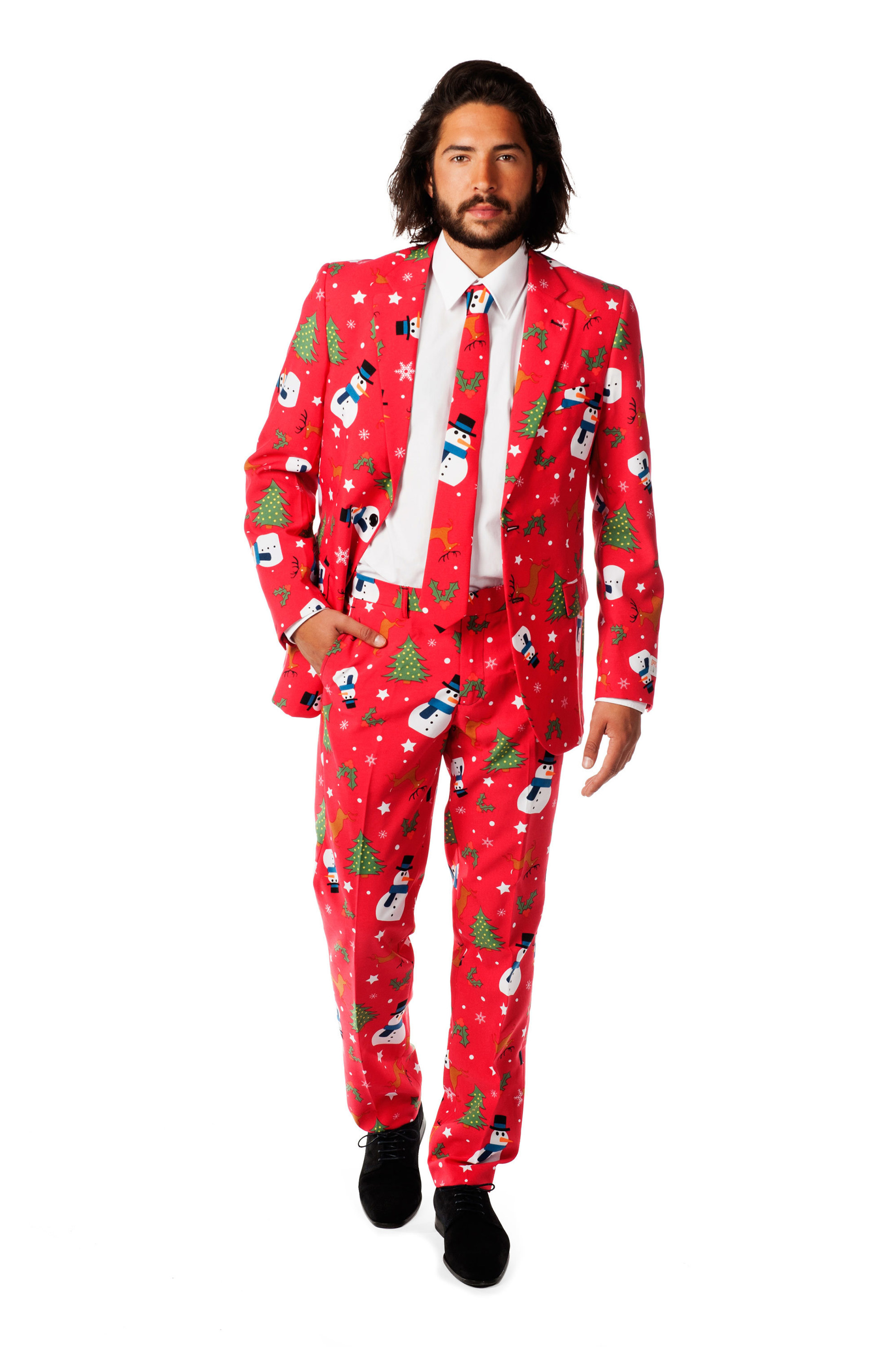 OppoSuits The Christmaster Kostuum foto 0