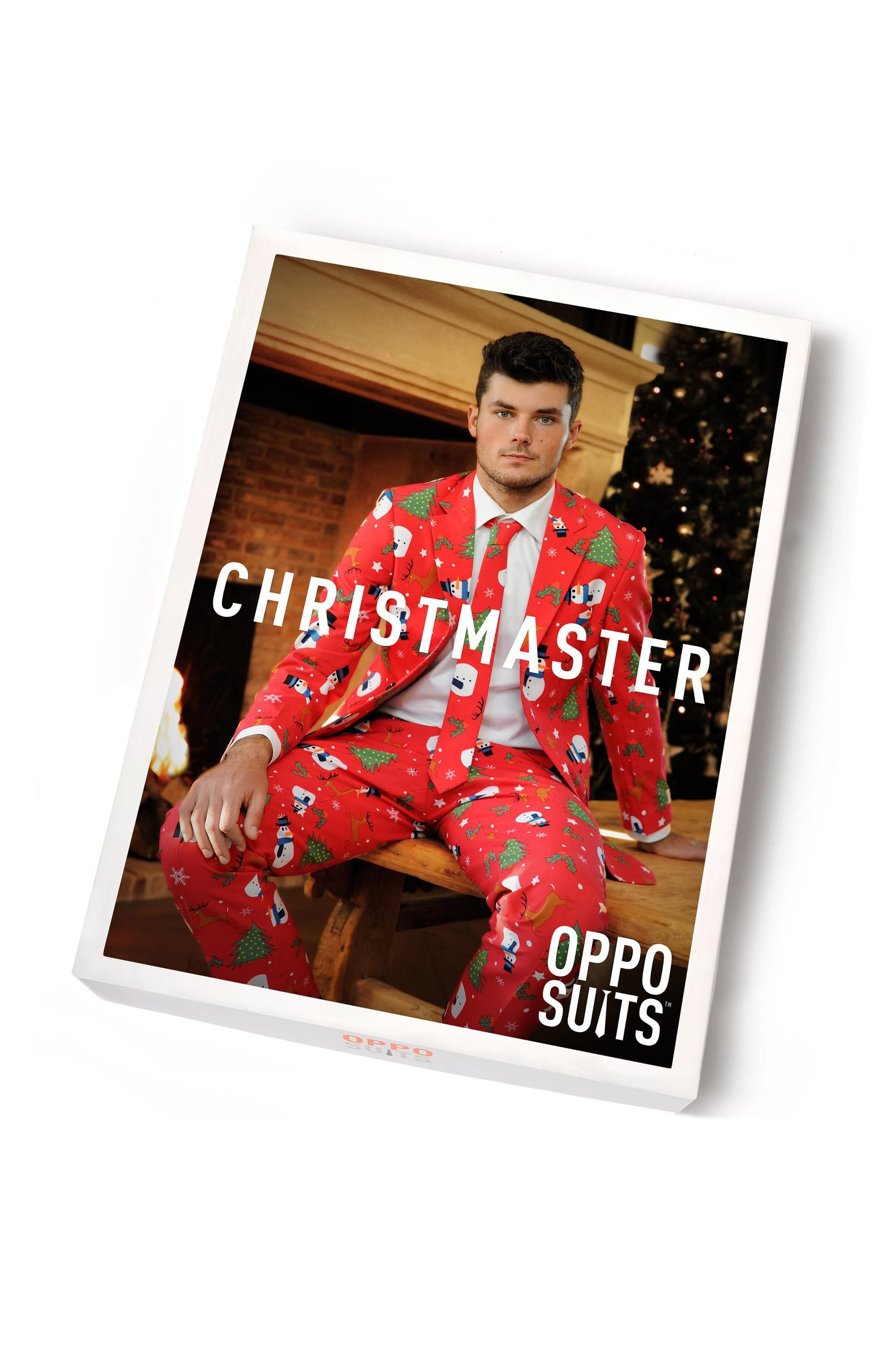 OppoSuits The Christmaster Kostuum foto 4