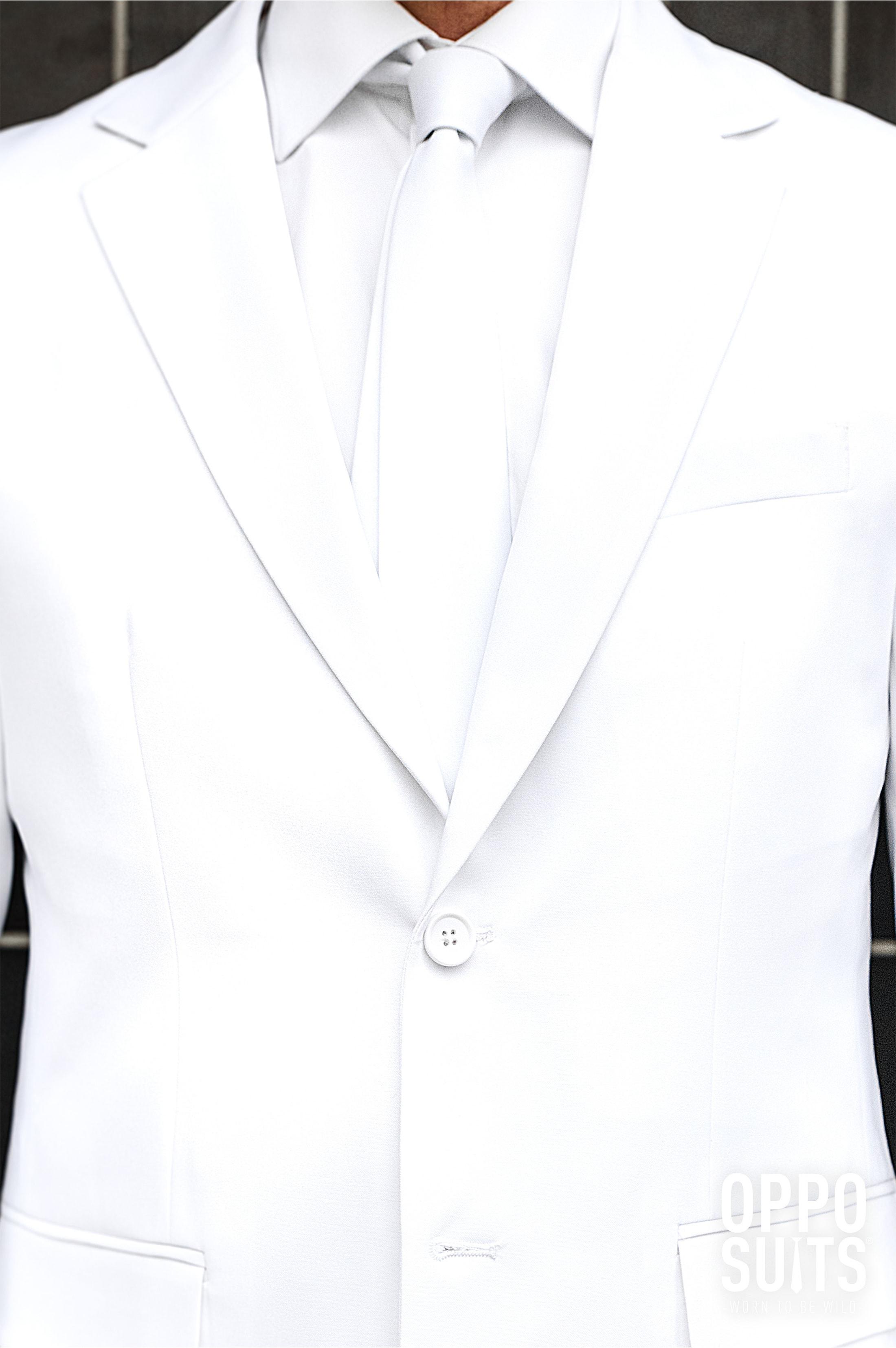 OppoSuits White Knight Kostuum foto 4