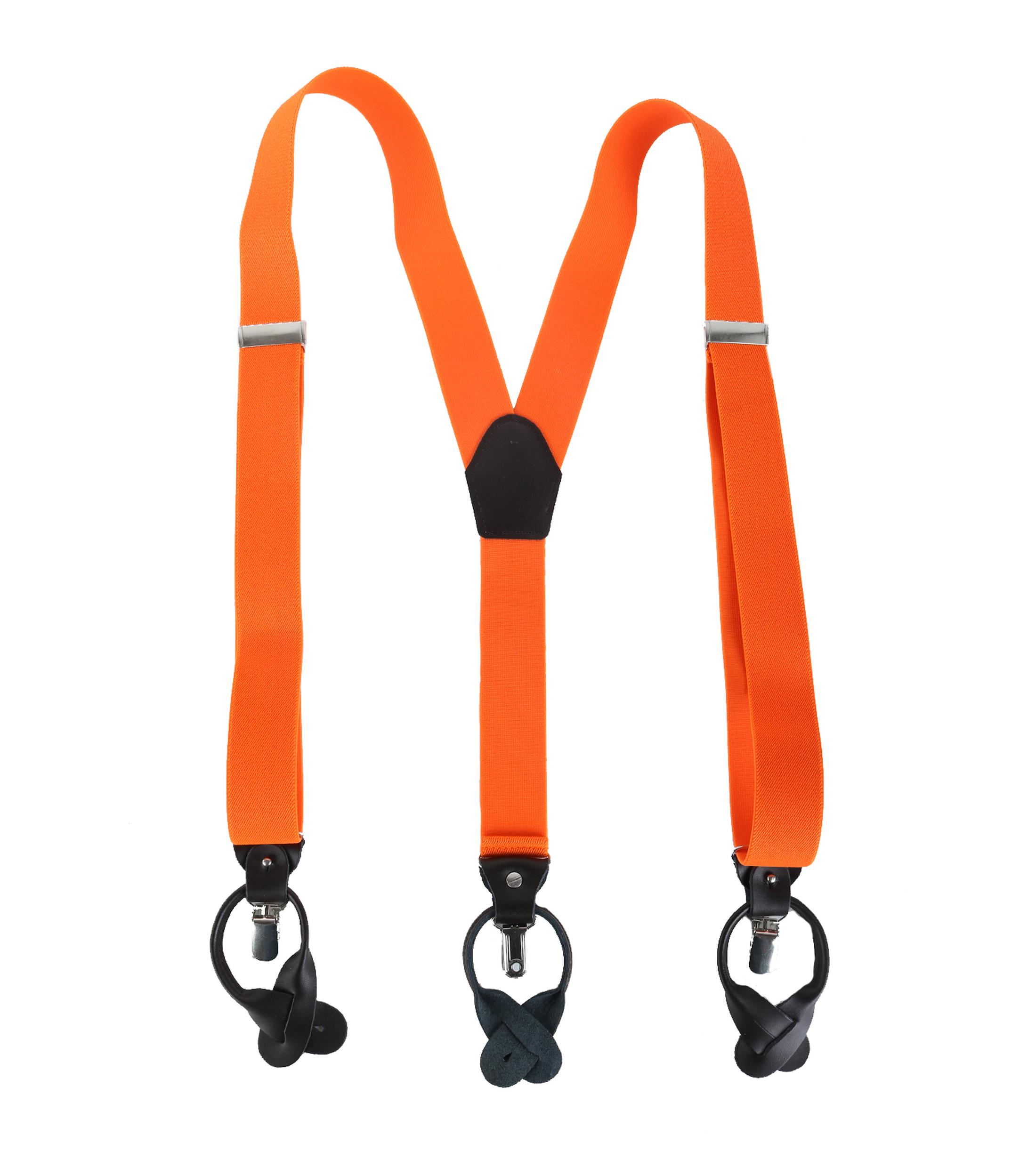 Oranje Bretels Luxe foto 1