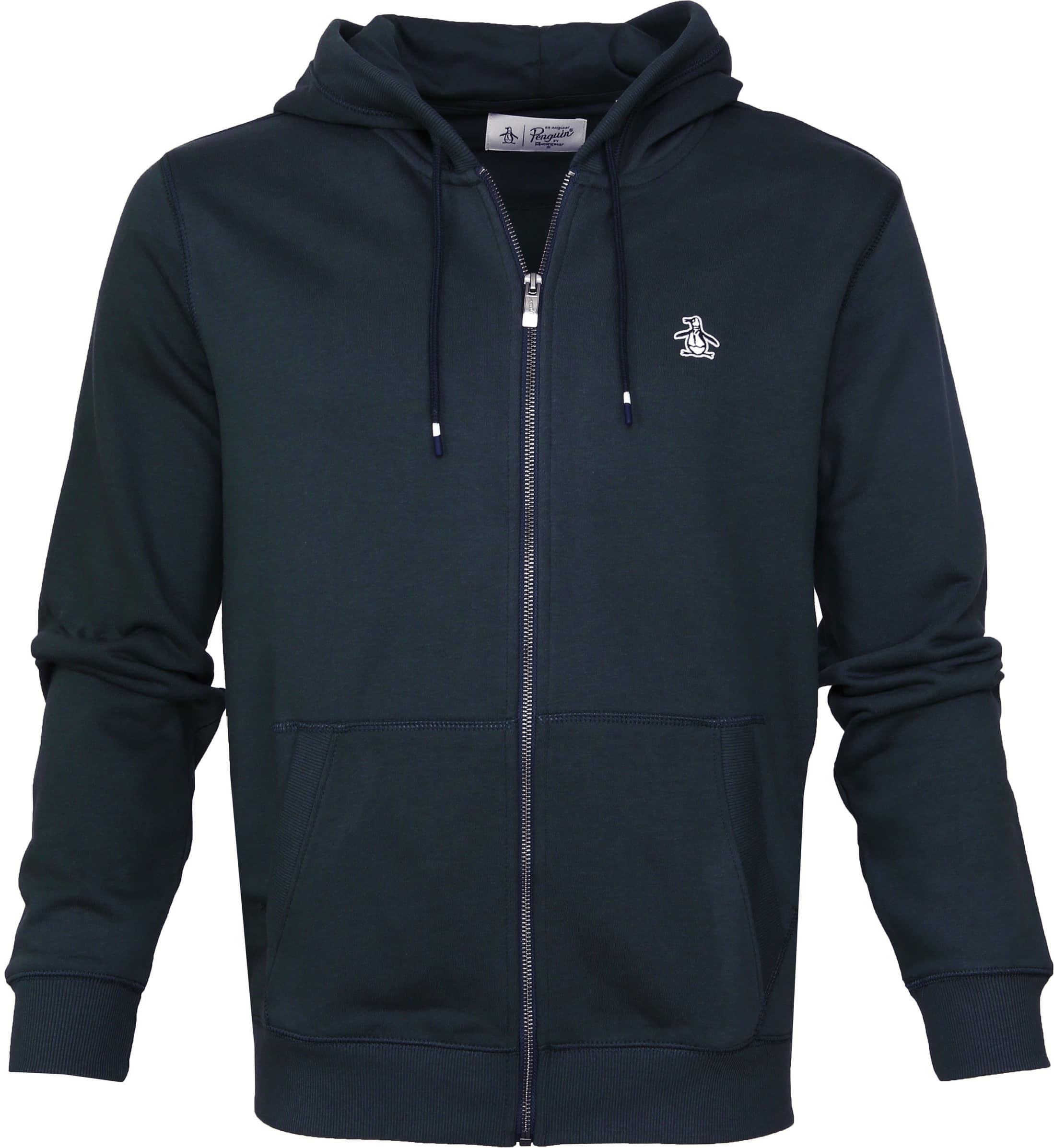 Original Penguin Hooded Vest Navy