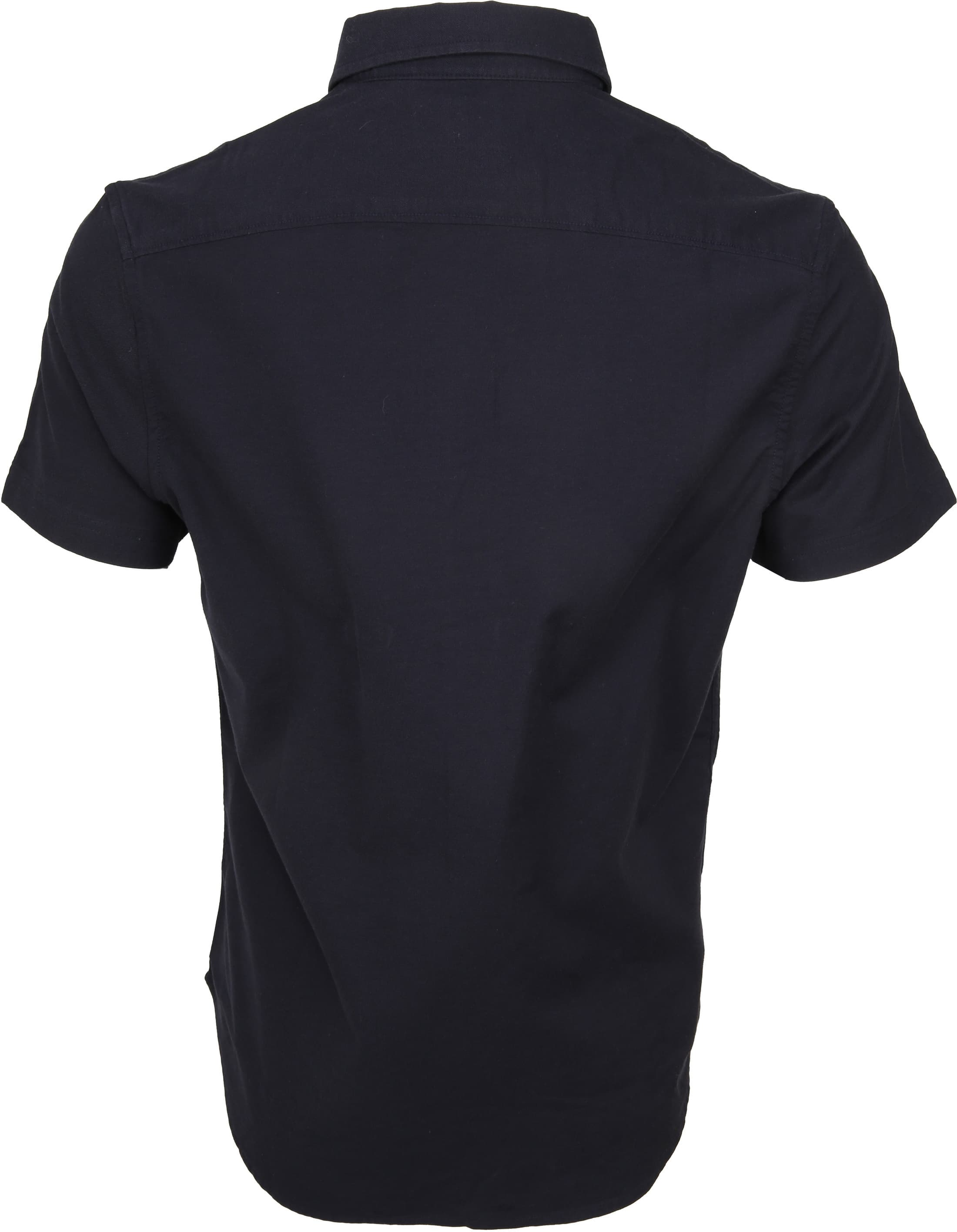 Original Penguin Oxford Overhemd SS Navy foto 3