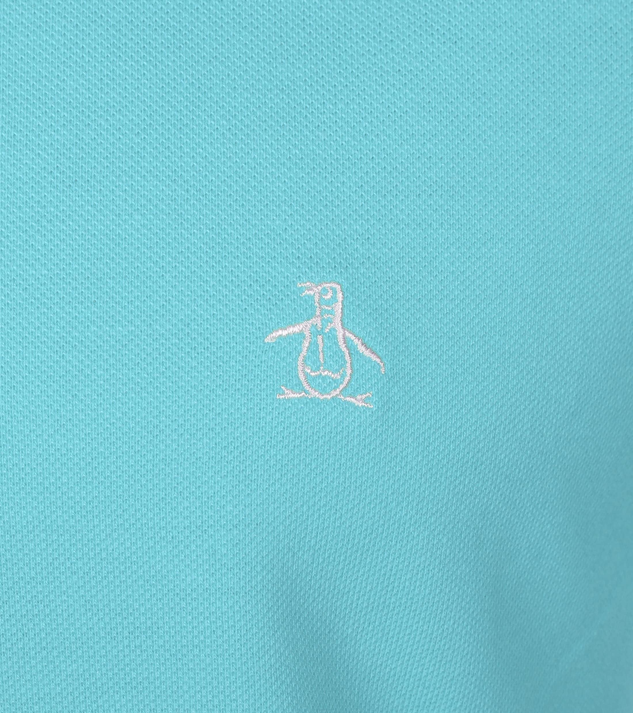Original Penguin Polo Lichtblauw foto 1