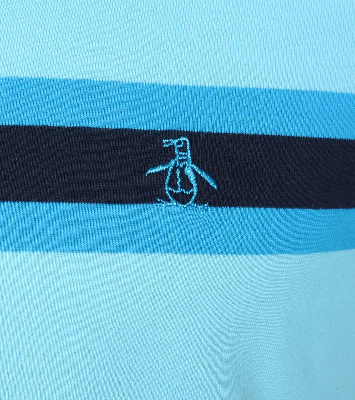 Original Penguin Poloshirt Farbe Streifen foto 1