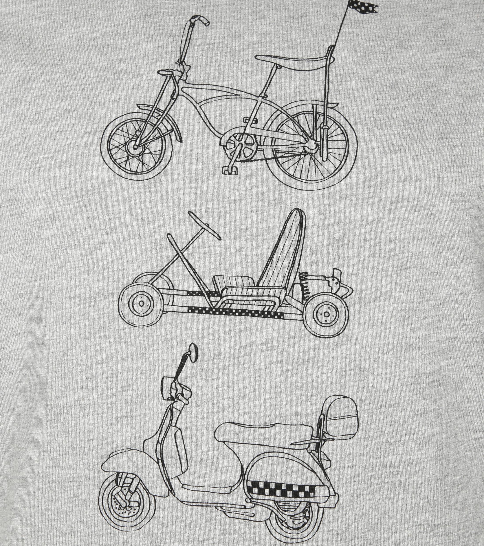 Original Penguin T-shirt Print Grijs foto 1