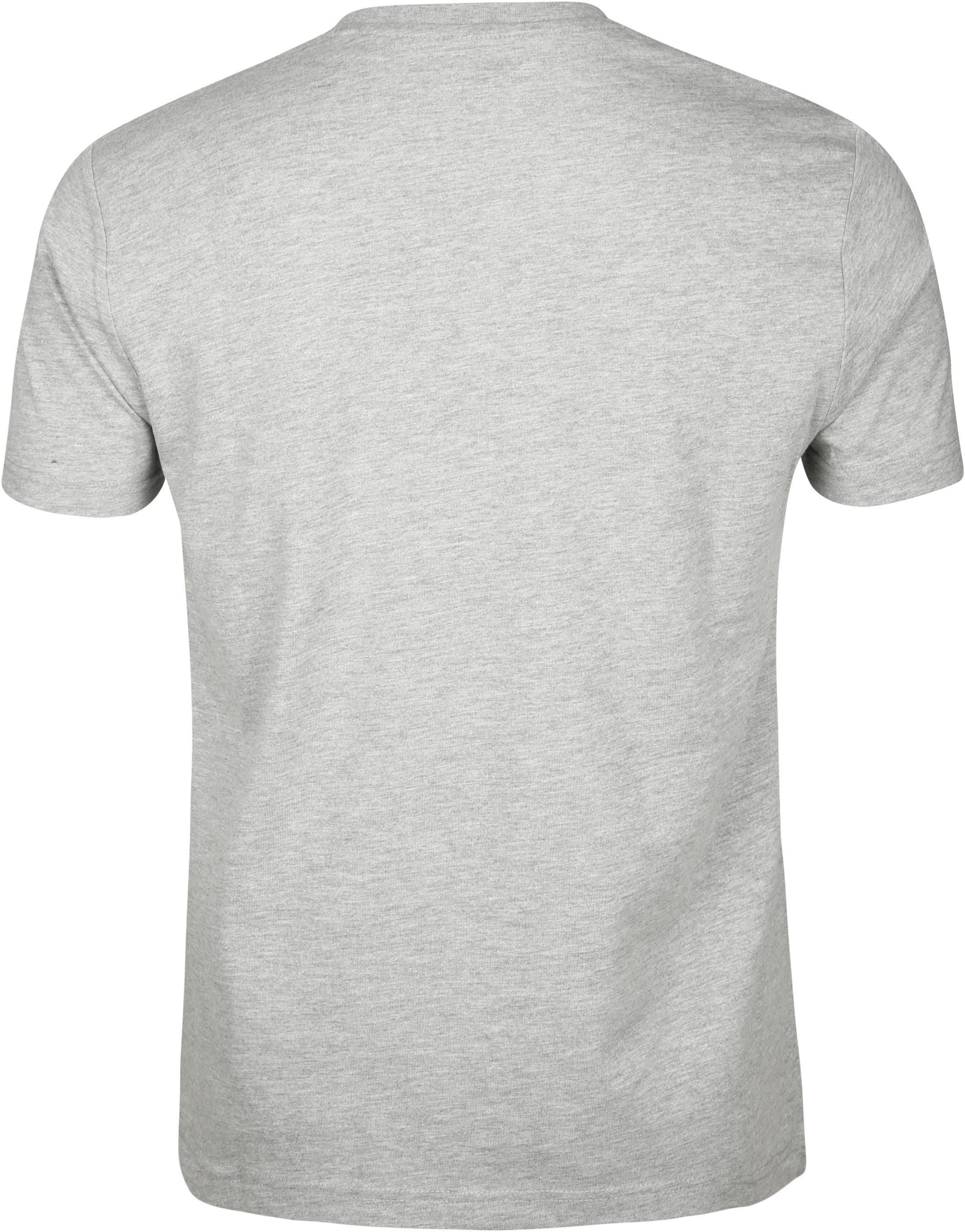 Original Penguin T-shirt Print Grijs foto 2