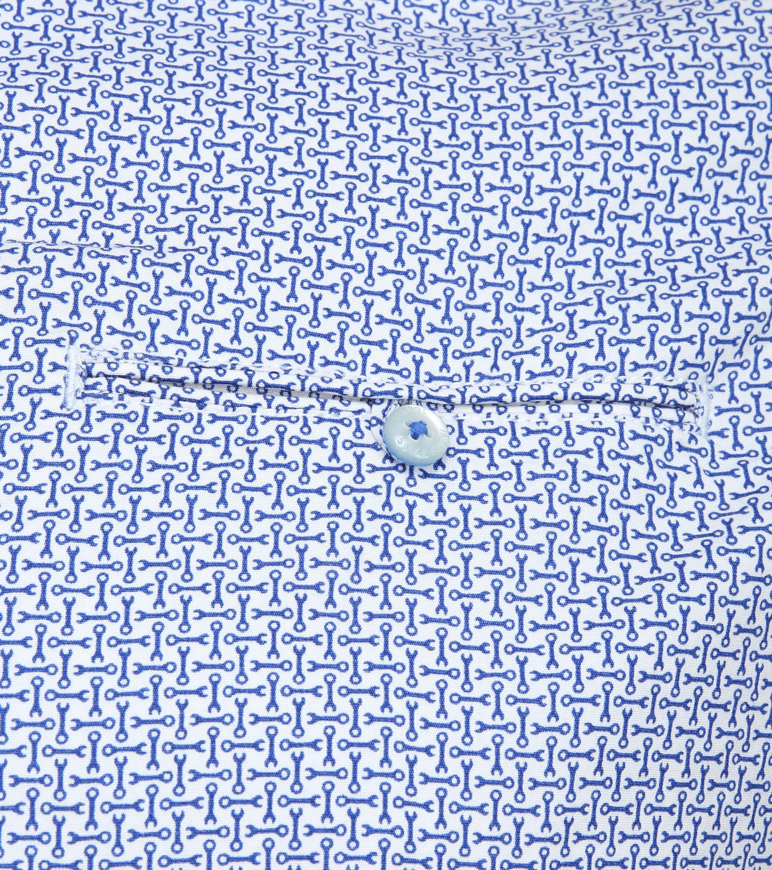 Petrol Overhemd Moersleutel Blauw