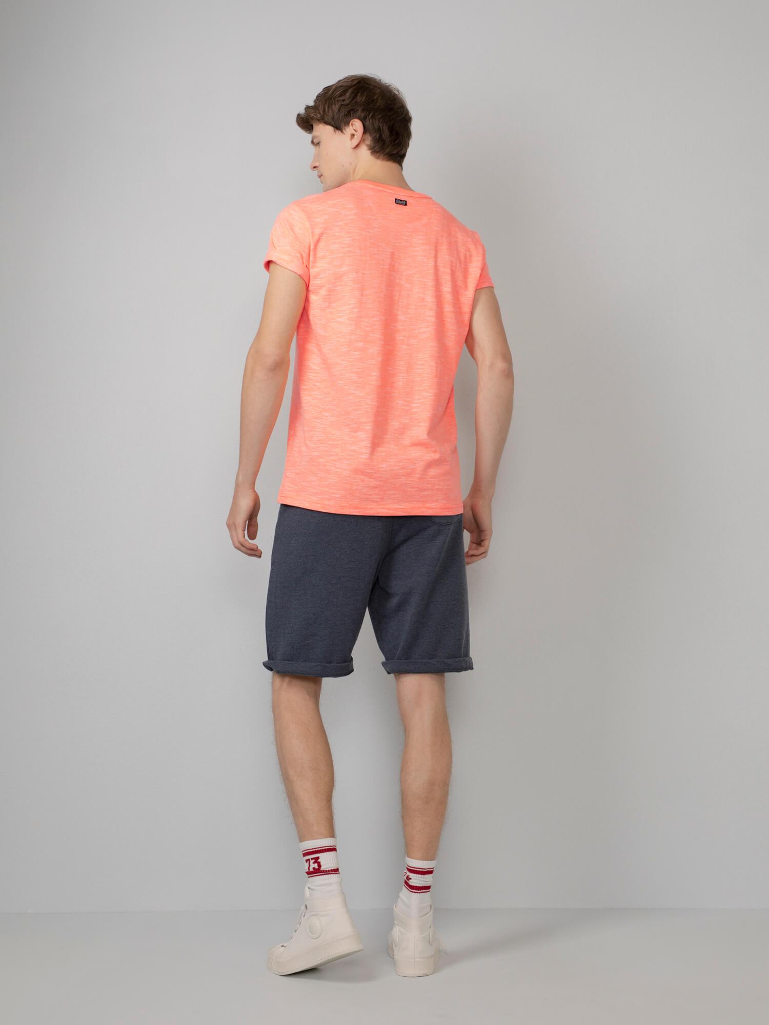 Petrol T-Shirt Oranje