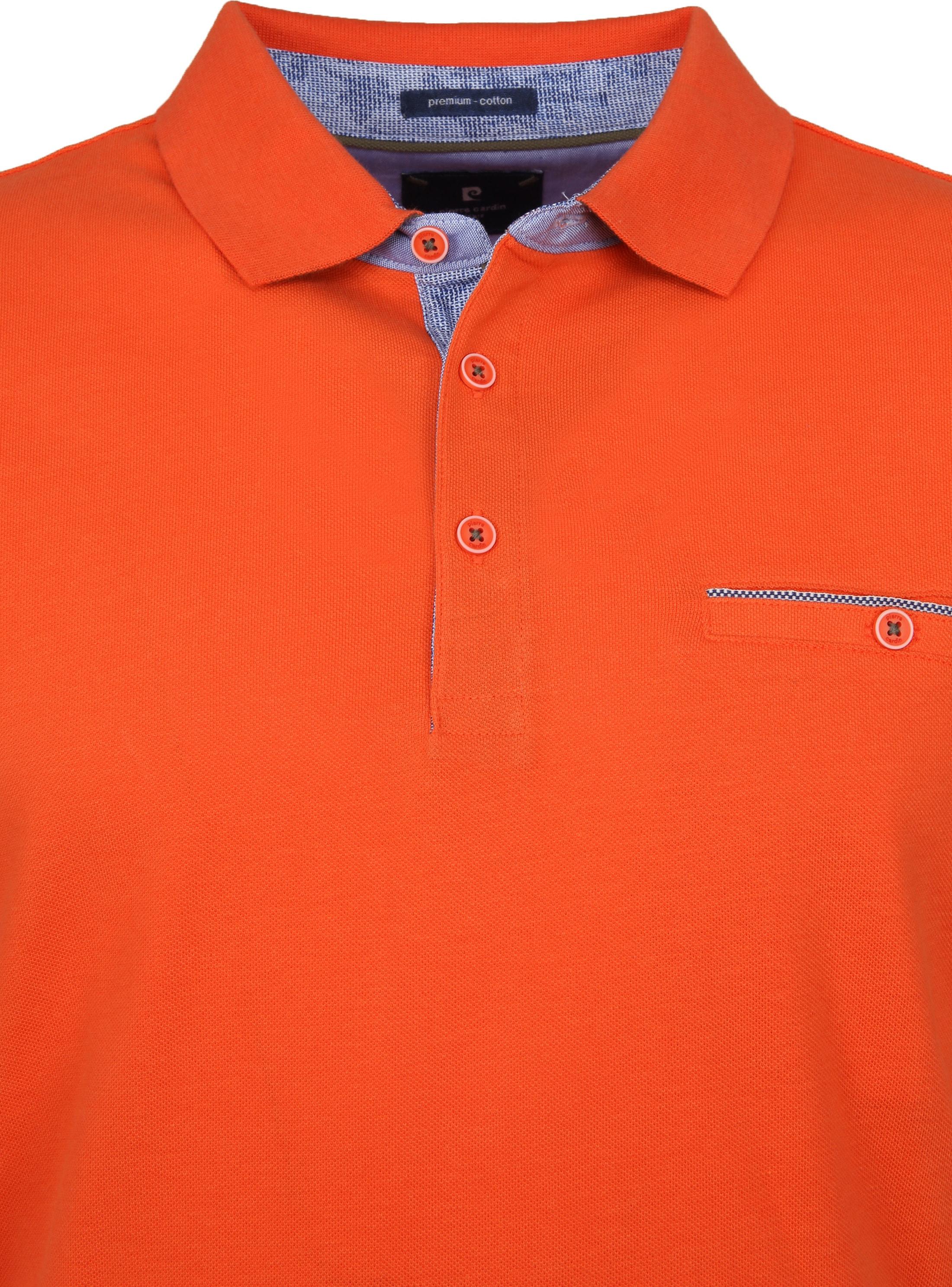 Pierre Cardin Polo Airtouch Oranje foto 1