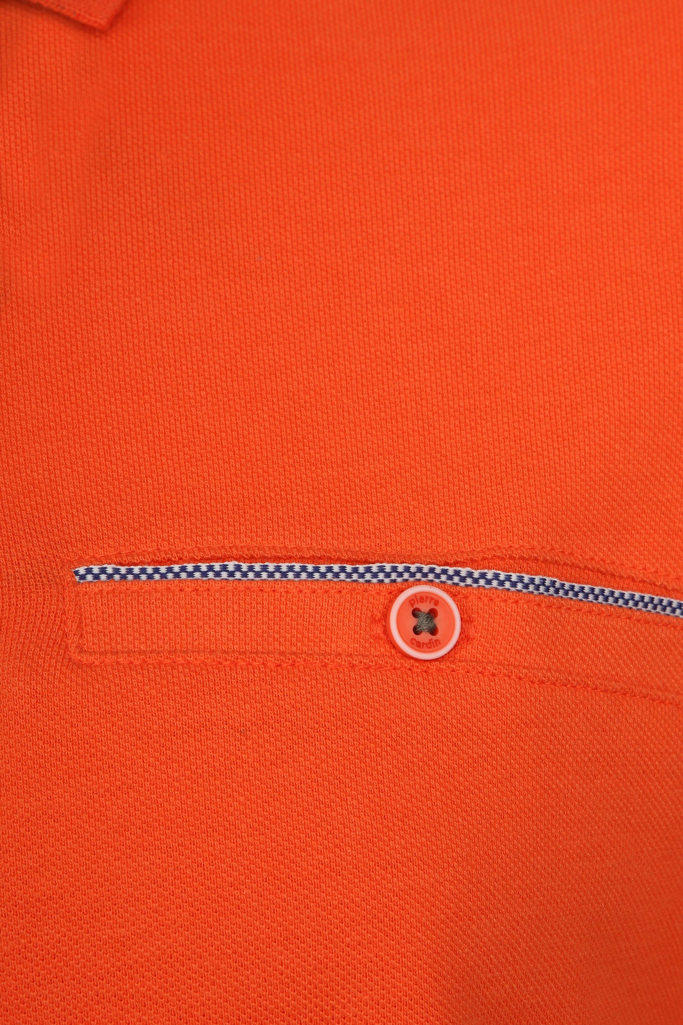 Pierre Cardin Polo Airtouch Oranje foto 2