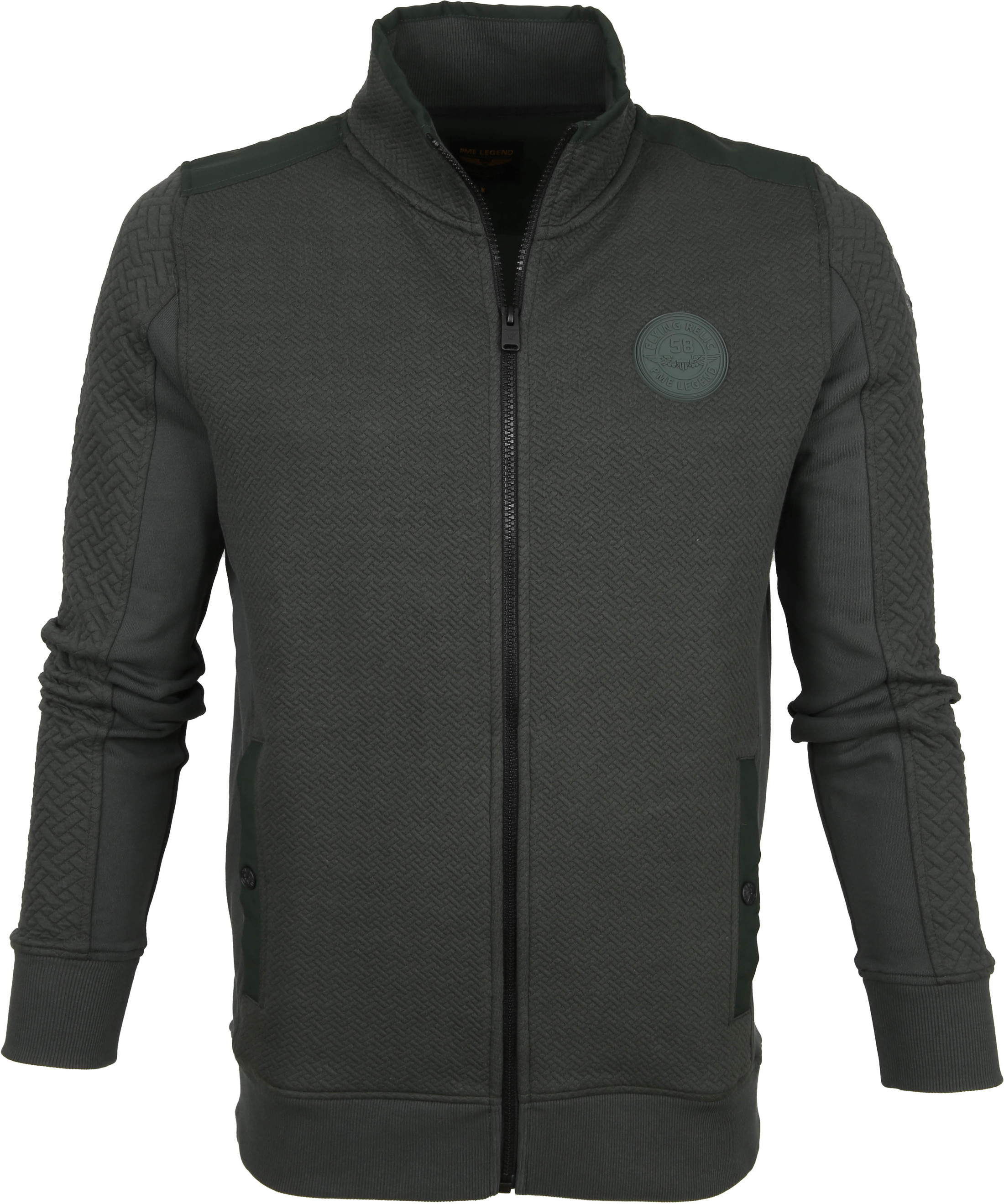PME Legend Cardigan Dark Green