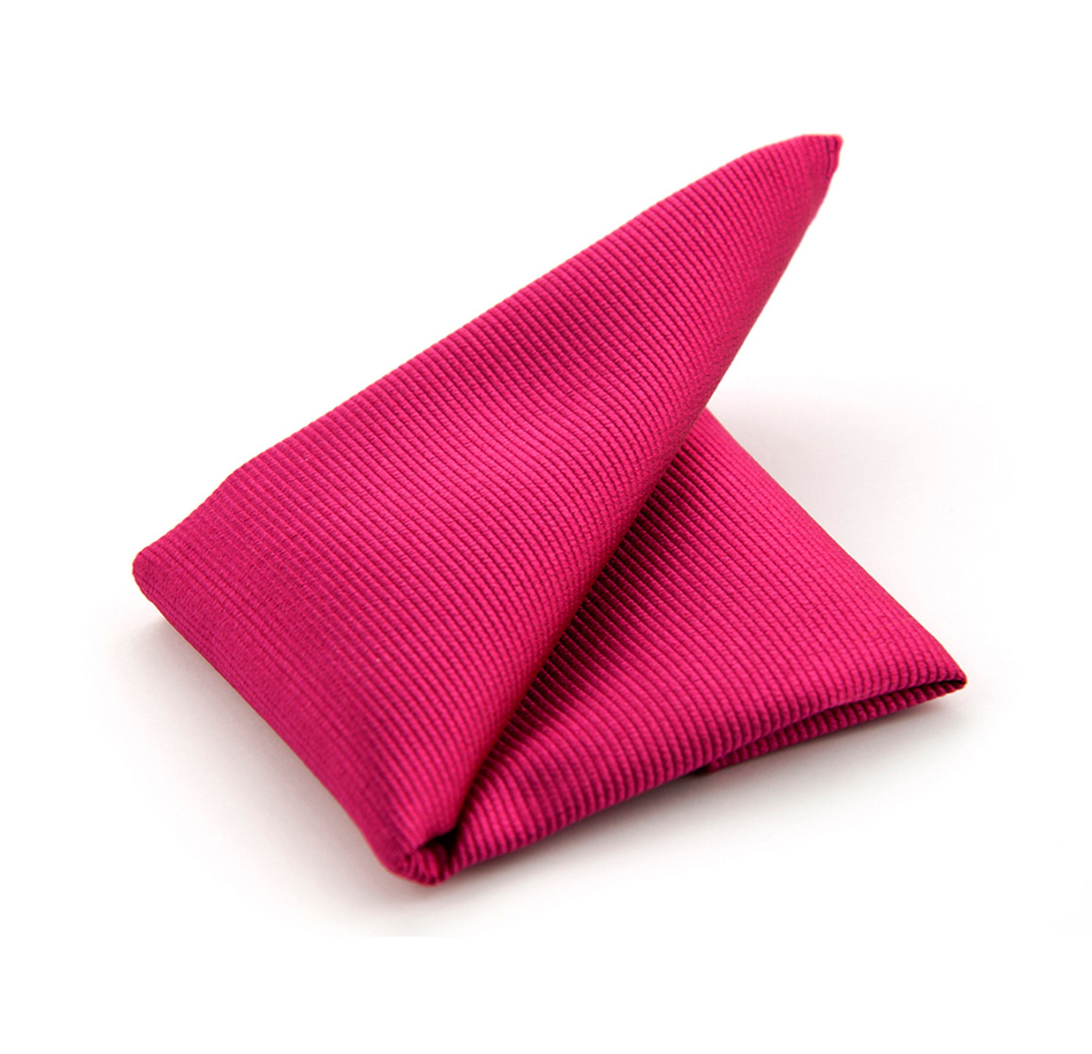 Pocket Square Dark Fuchsia F66 foto 0