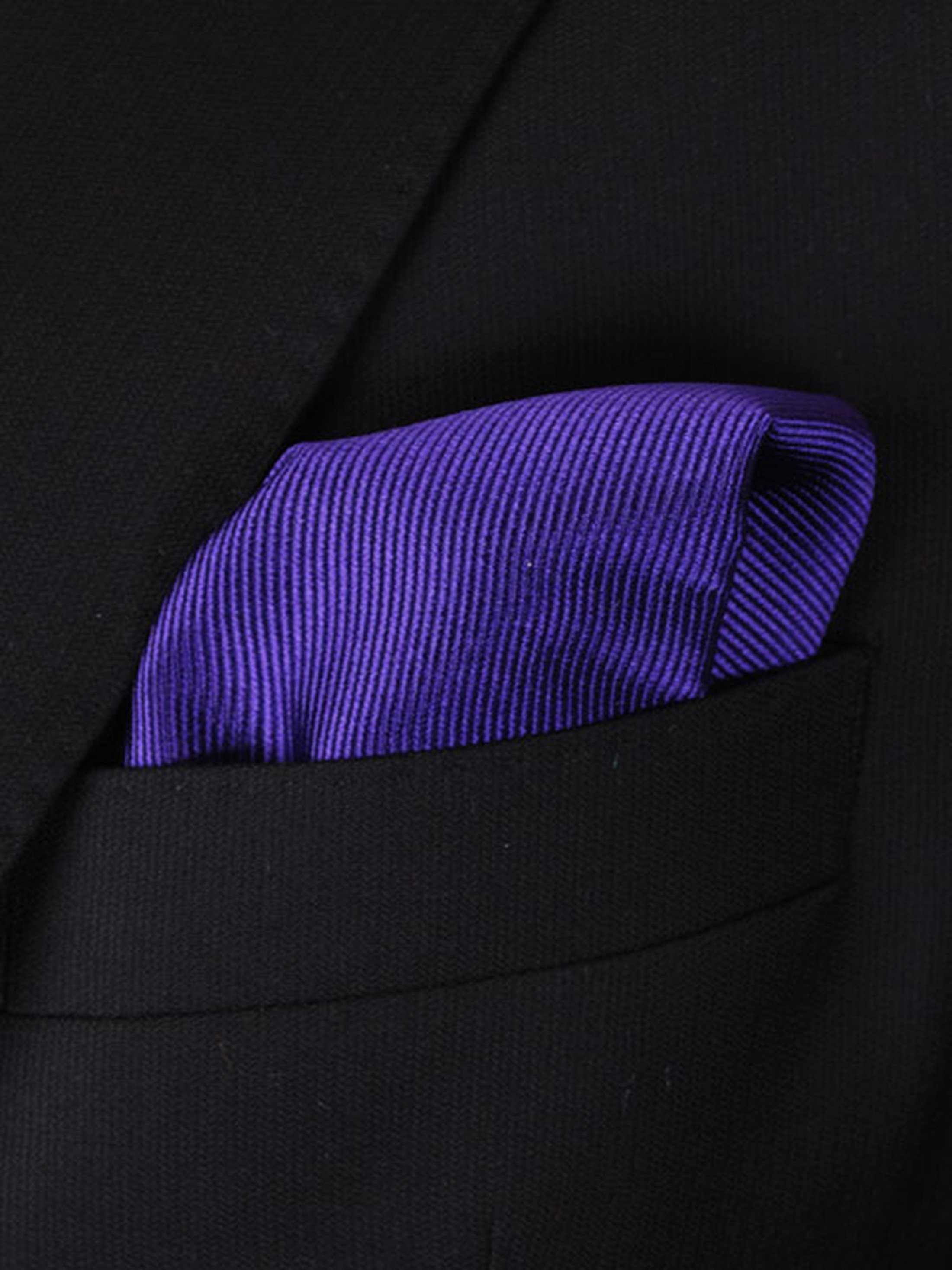 Pocket Square Deep Purple F55 foto 1