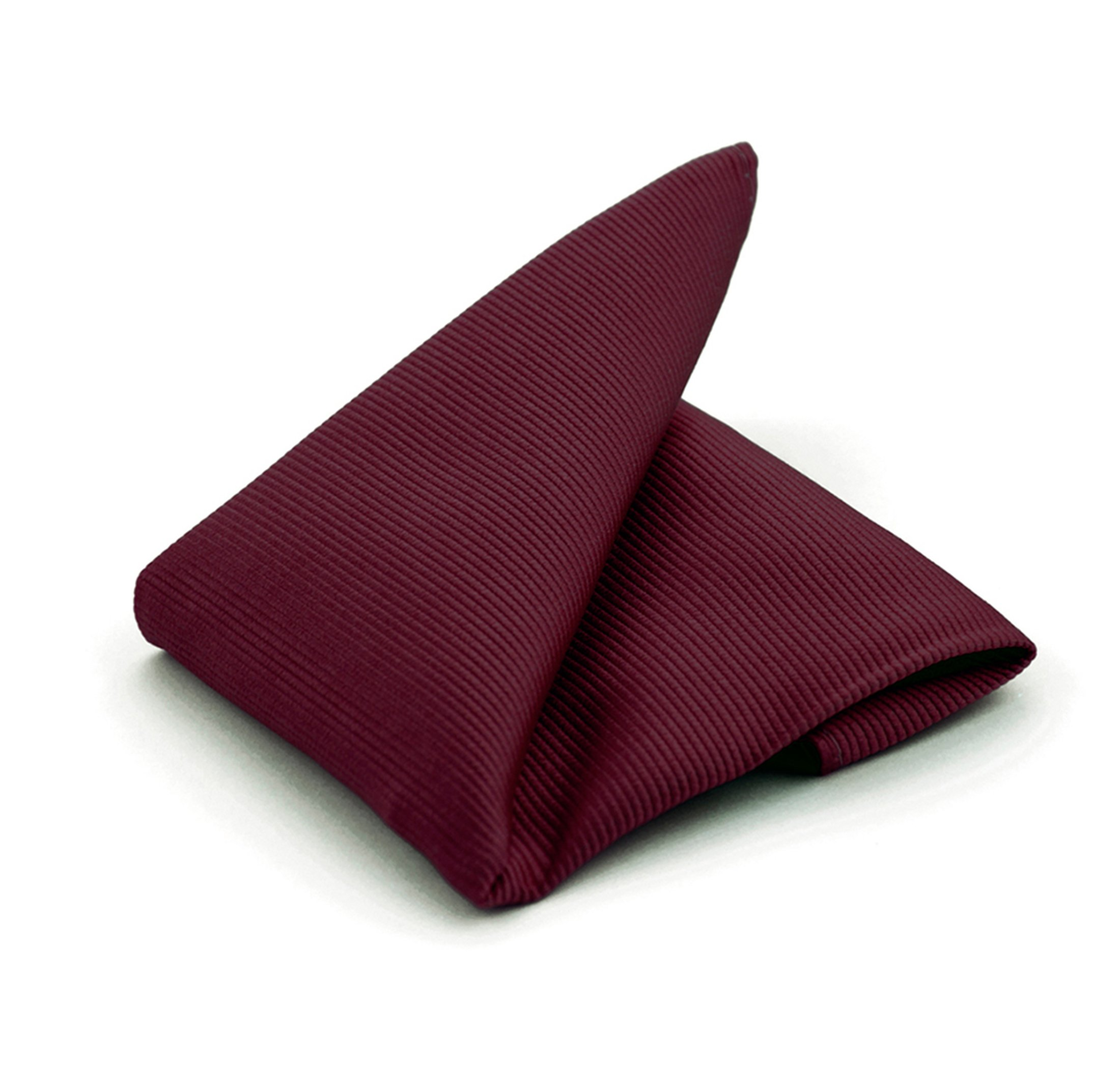 Pocket Square Silk Bordeaux F31 foto 0