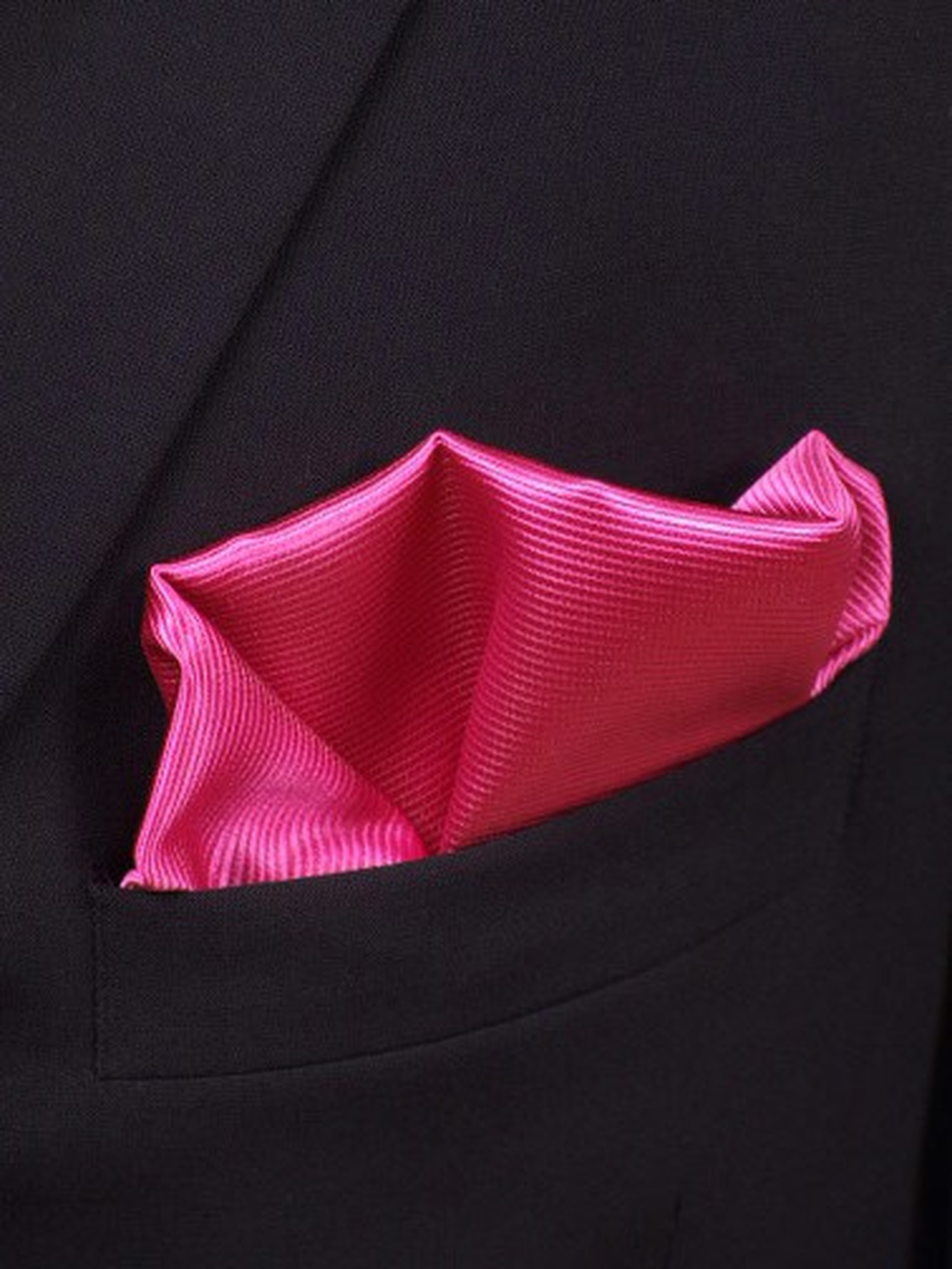 Pocket Square Silk Fuchsia F21