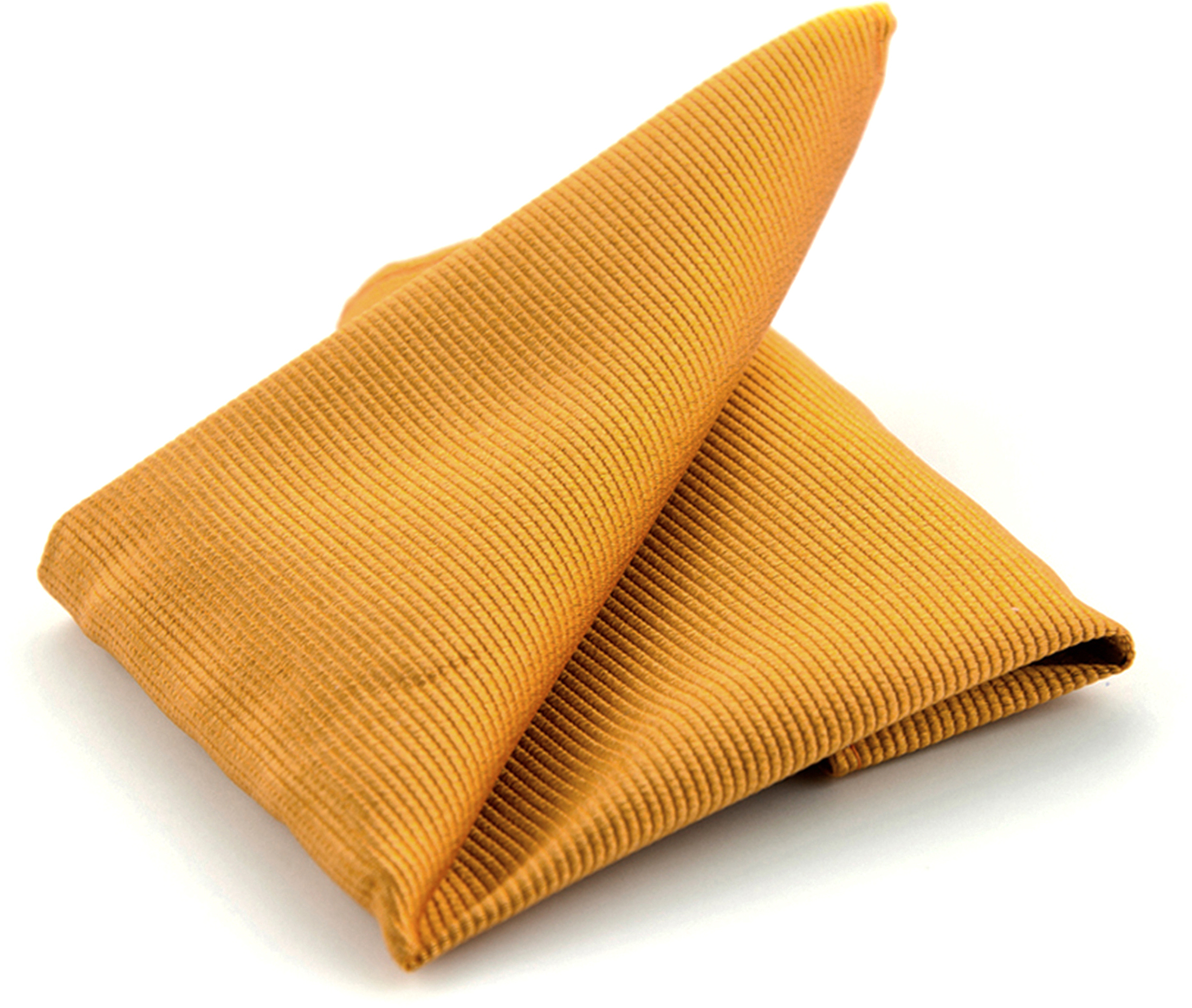 Pocket Square Silk Gold F13 photo 0