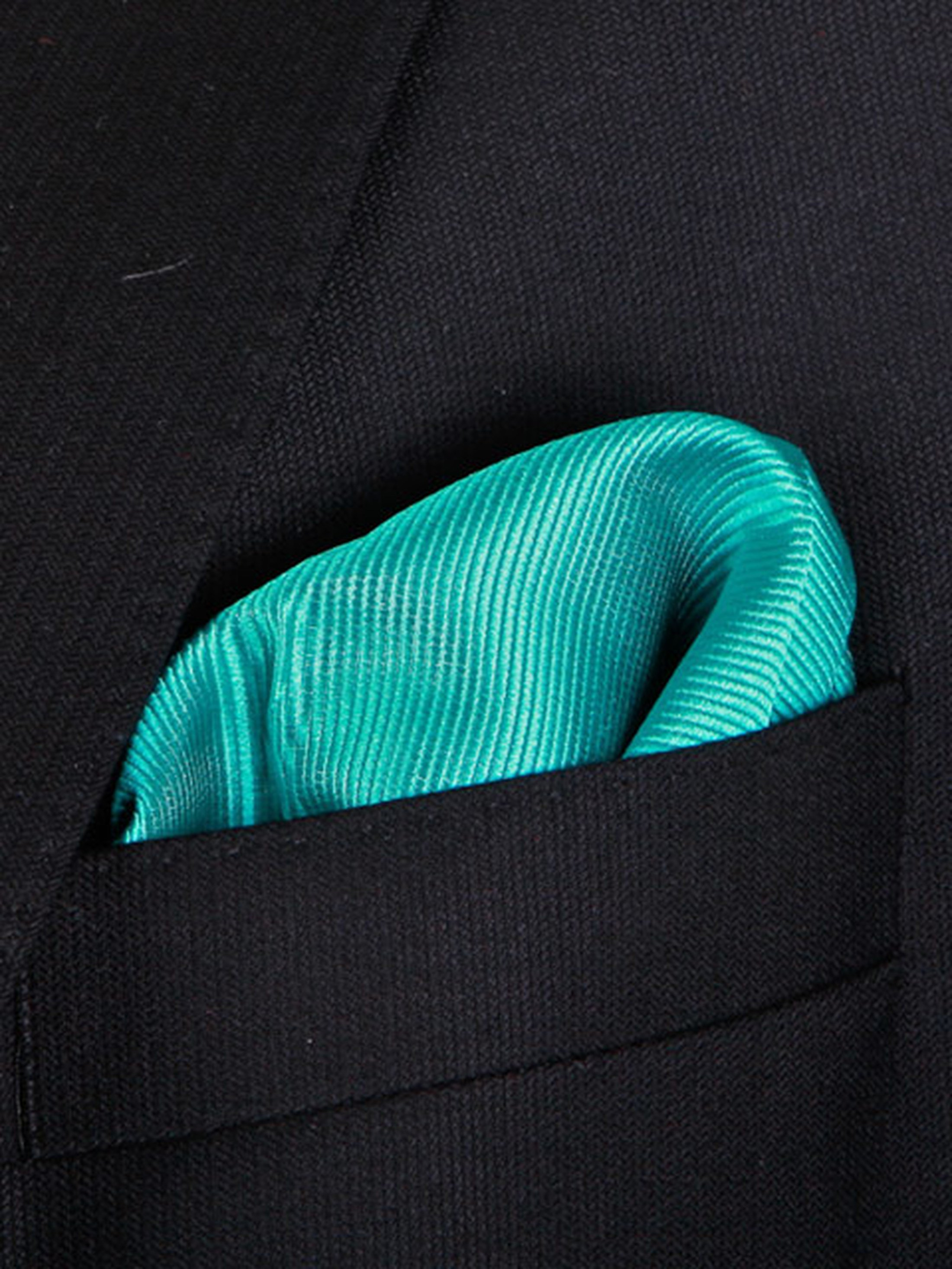 Pocket Square Smaragd F67