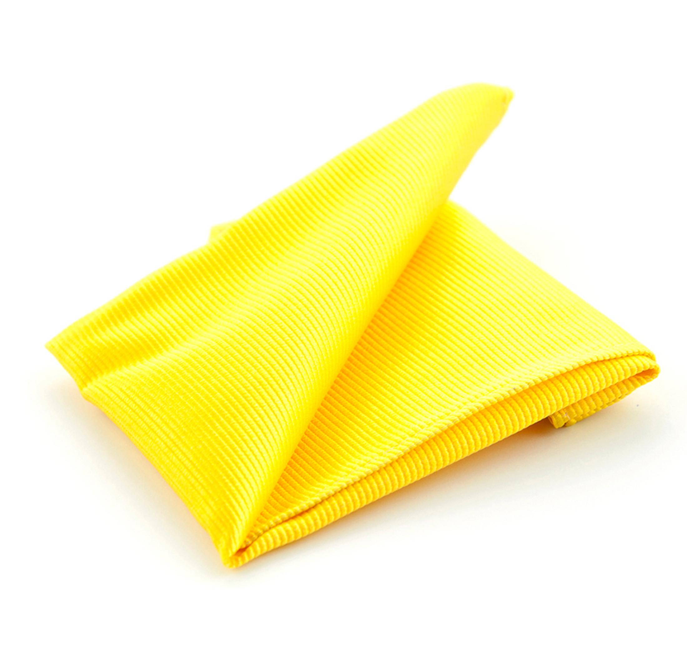 Pocket Square Yellow F70 photo 0