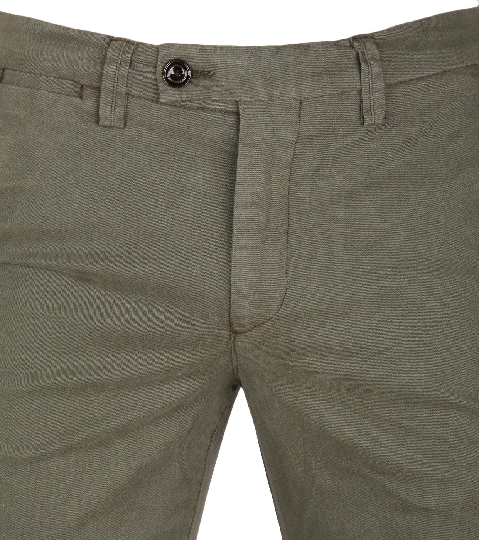 Profuomo Chino Garment DYE Green foto 2