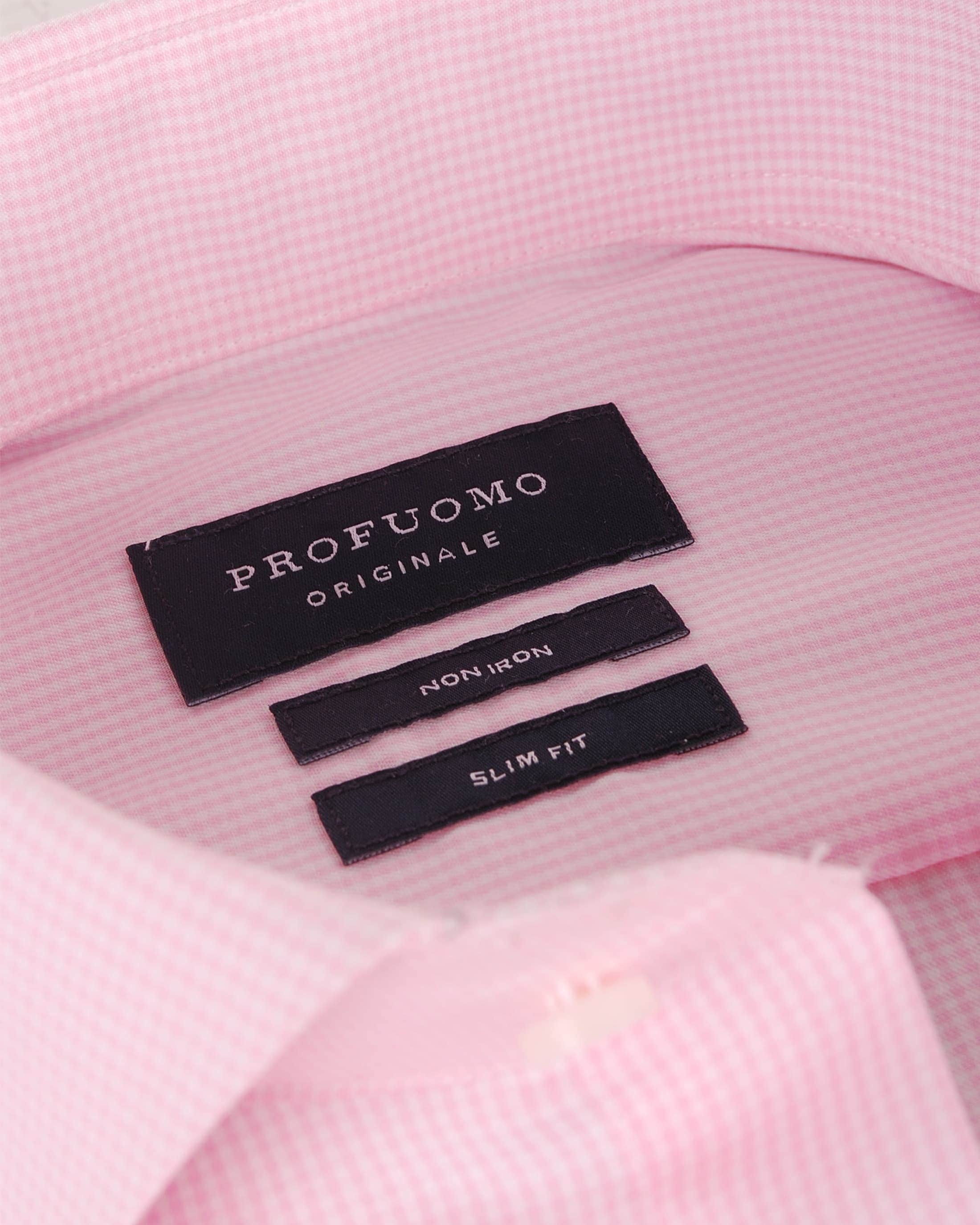 Profuomo Hemd Cutaway Pink foto 1