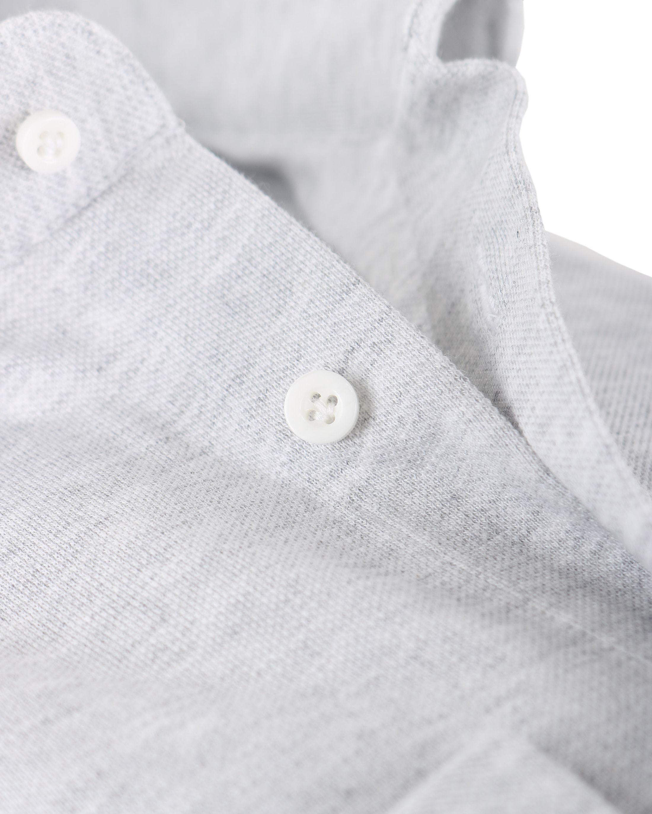 Profuomo Hemd Knitted Slim Fit Grau Foto 1