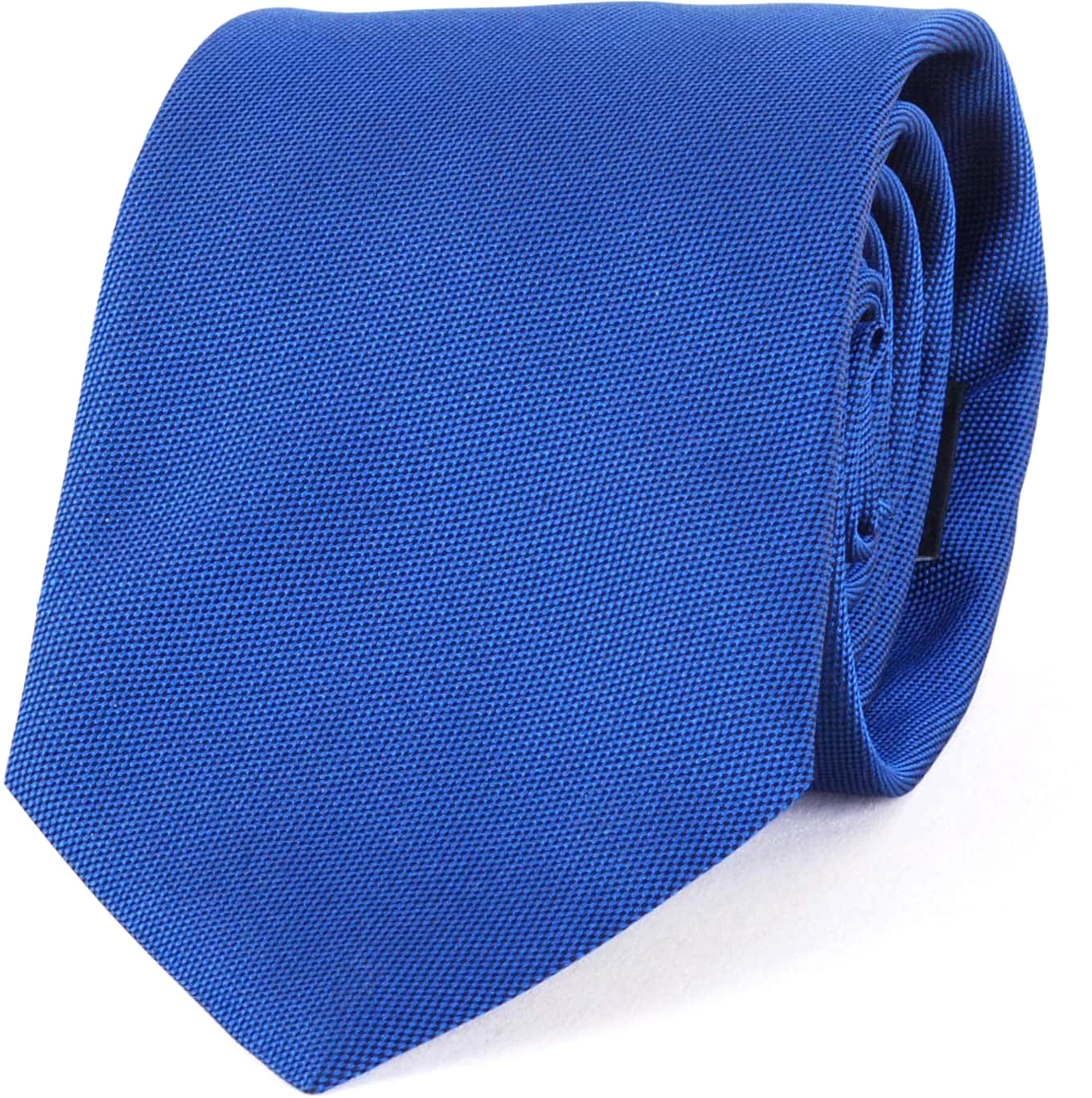 Profuomo Krawatte Royal Blau 01C