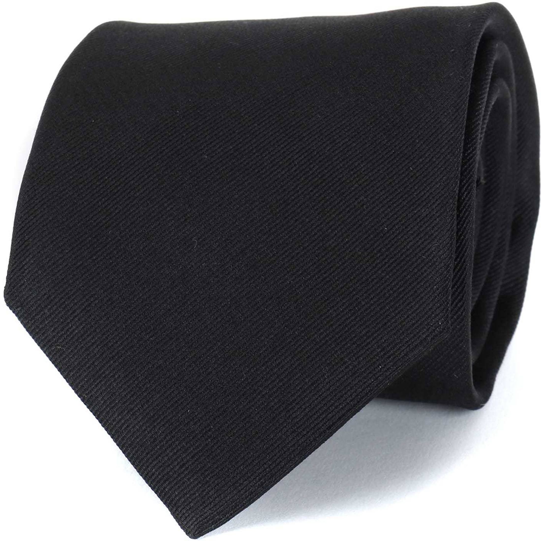 Profuomo Krawatte Schwarz 16J foto 0