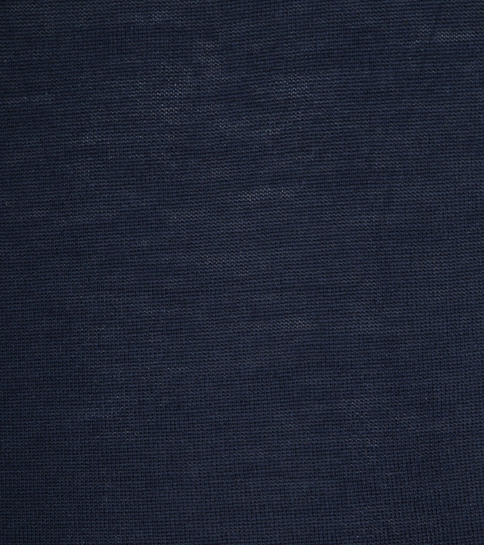 Profuomo Longsleeve Poloshirt Navy foto 2