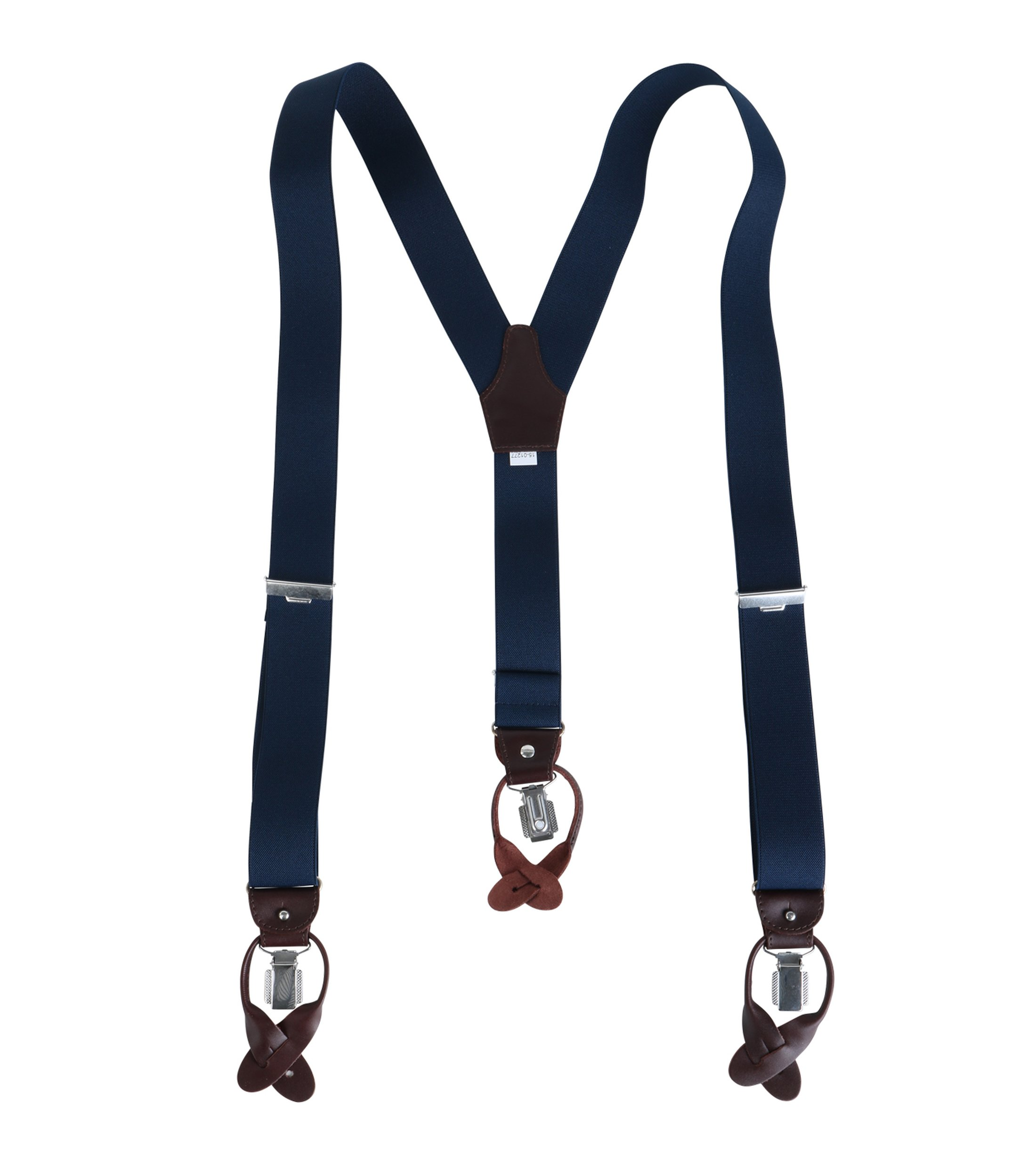 Profuomo Luxury Suspenders Dark Blue foto 1