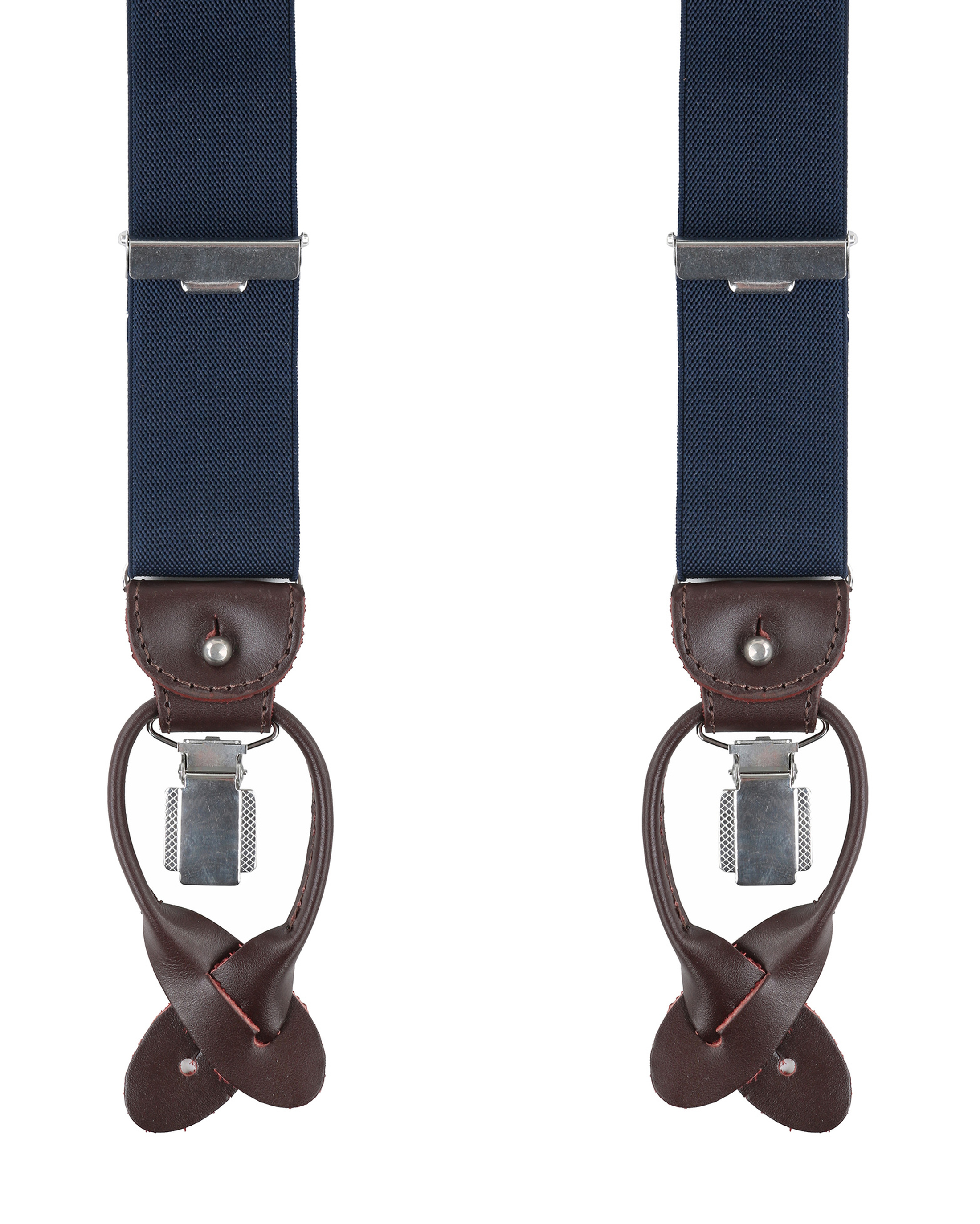 Profuomo Luxury Suspenders Dark Blue foto 0