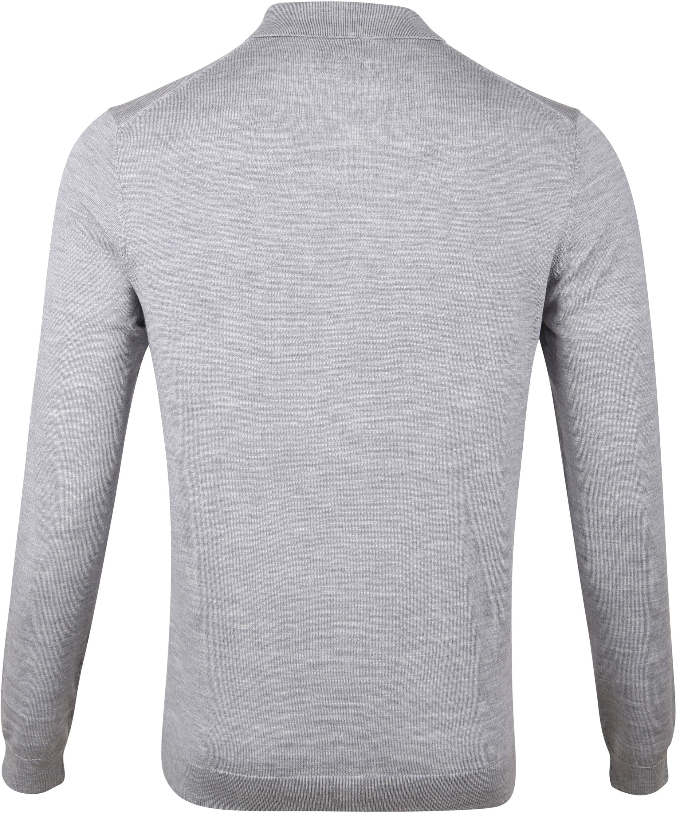 Profuomo Merino Poloshirt Grey photo 2