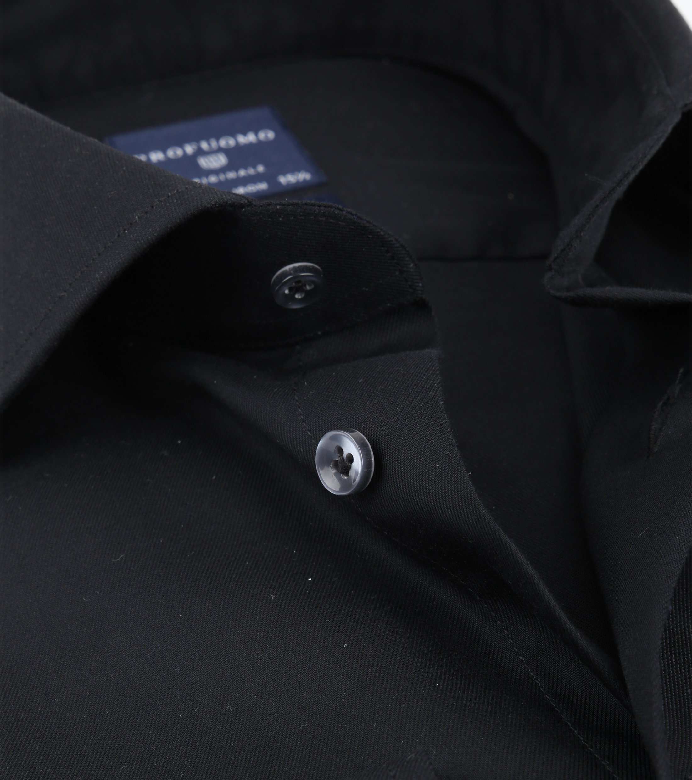 Profuomo Non Iron Shirt Black foto 1