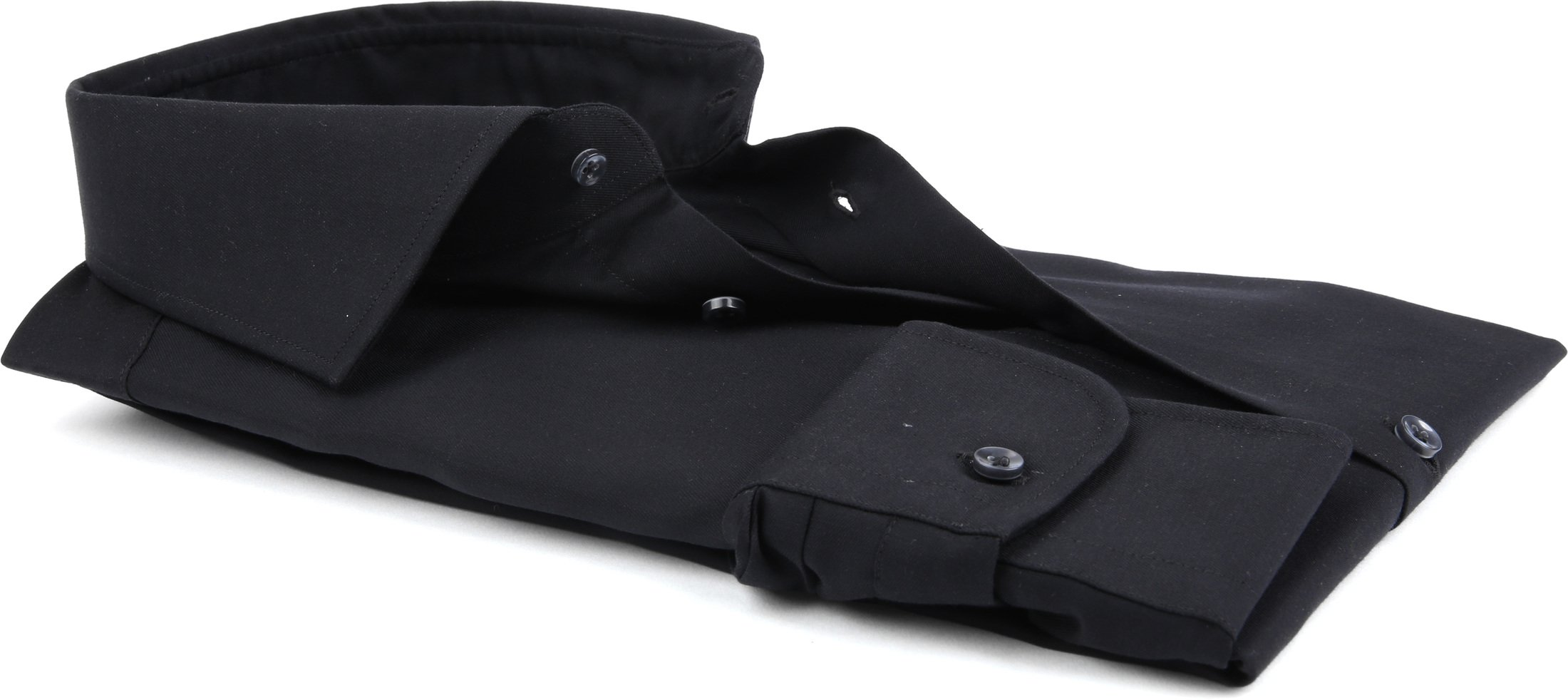 Profuomo Non Iron Shirt Black foto 3