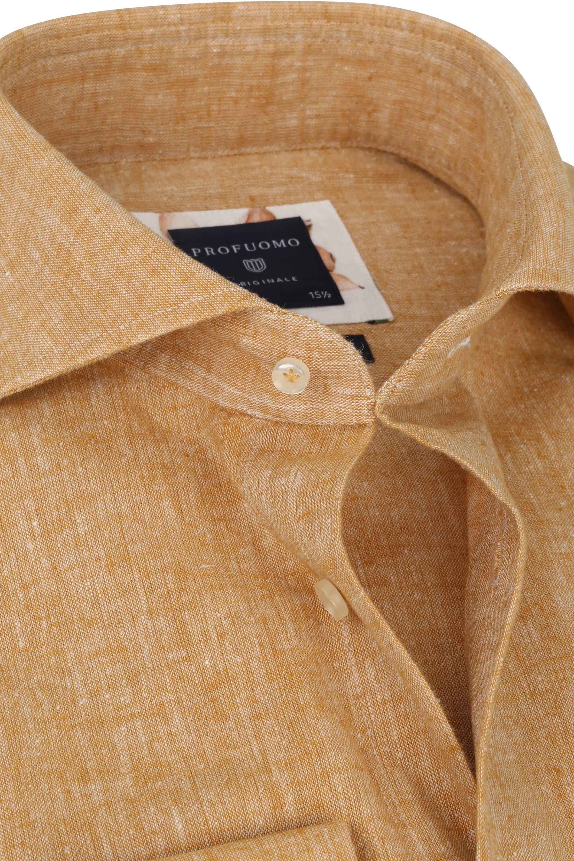 Profuomo Originale Overhemd Oranje