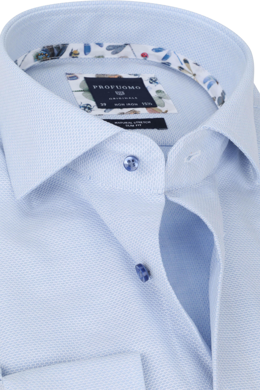 Profuomo Originale Overhemd X Blauw