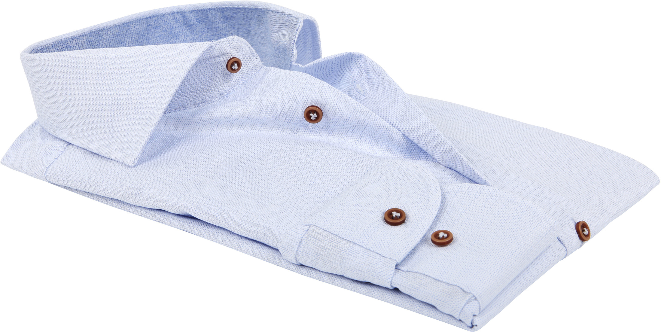 Profuomo Overhemd Blauw SF foto 3